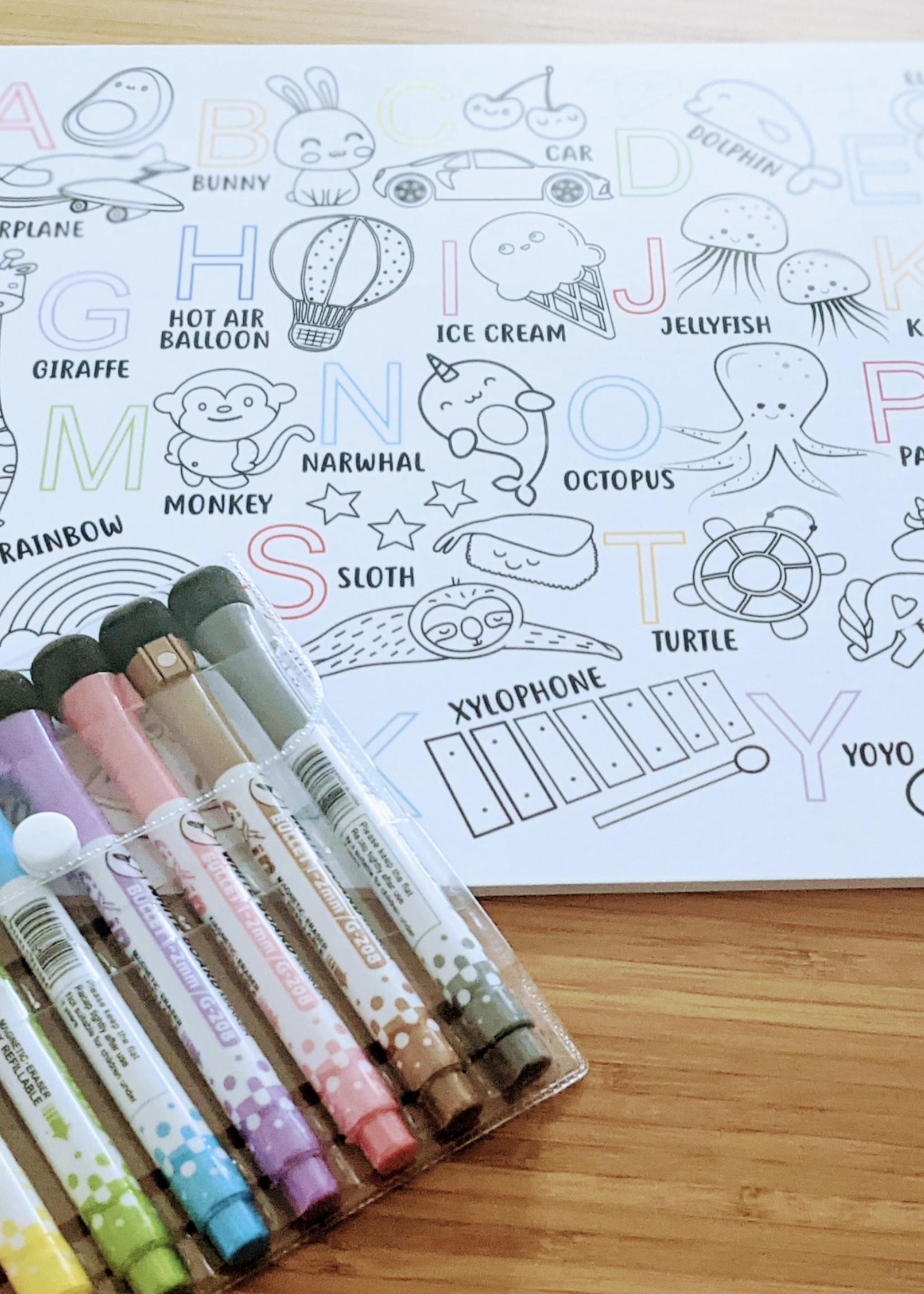 Love Designs Doodle & Learn Whiteboard Set