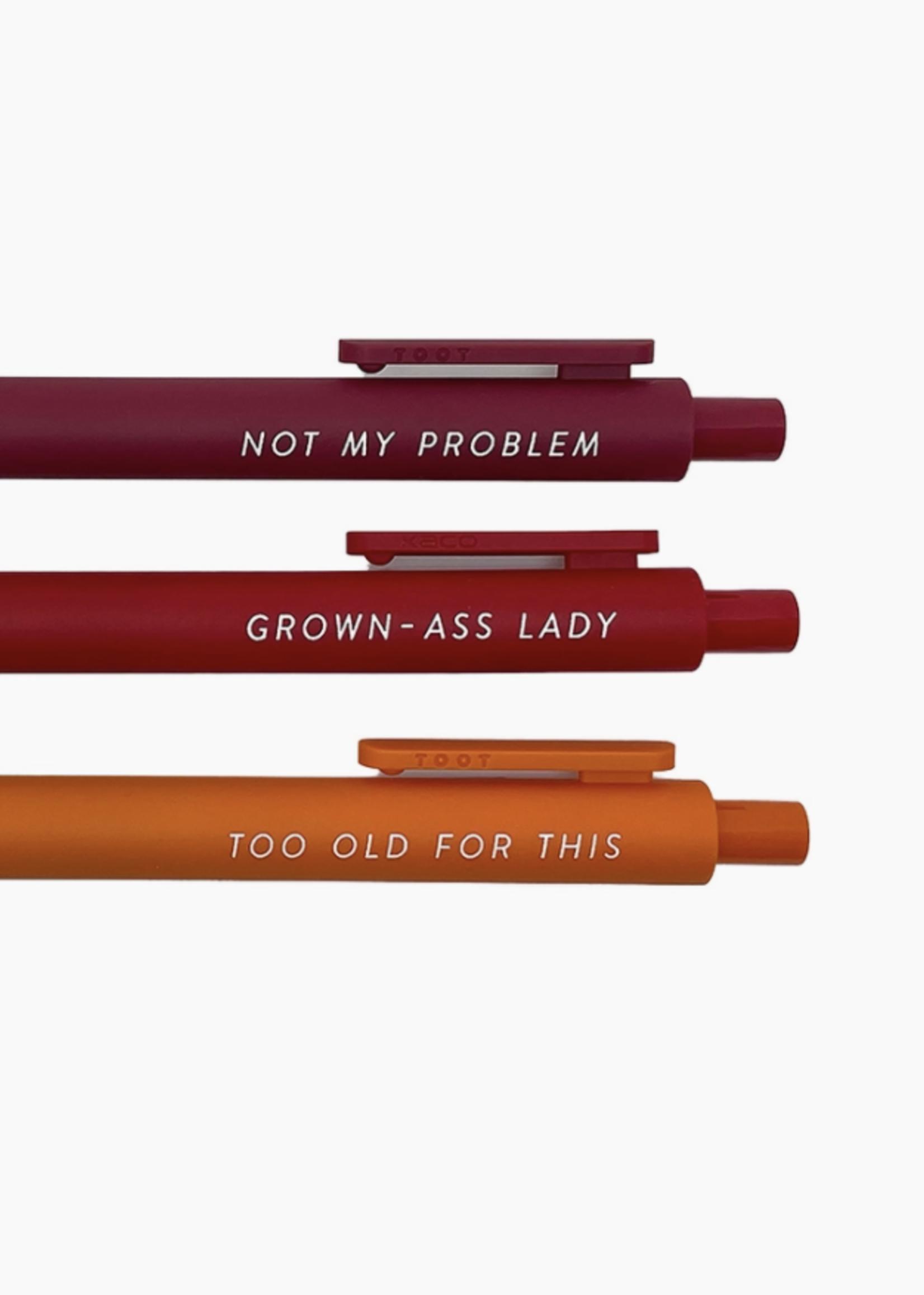Little Goat Paper Co Pens For Grown Ass Ladies