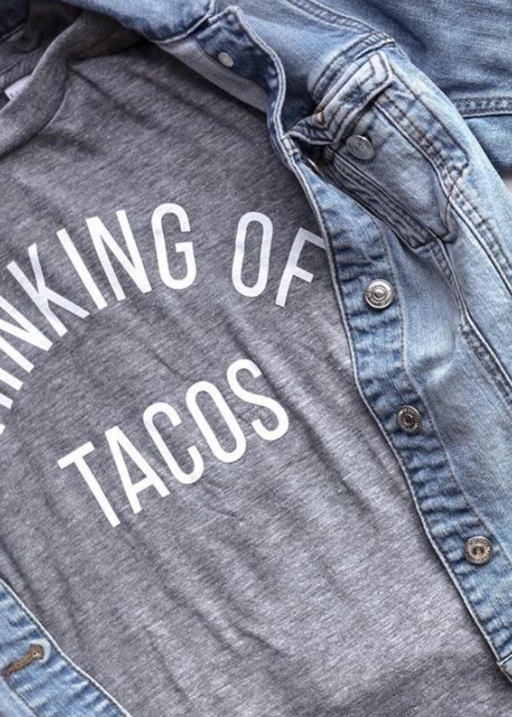 Little Bandidos Thinking of Tacos T-Shirt