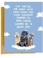 Knotty Cards Dog Sympathy