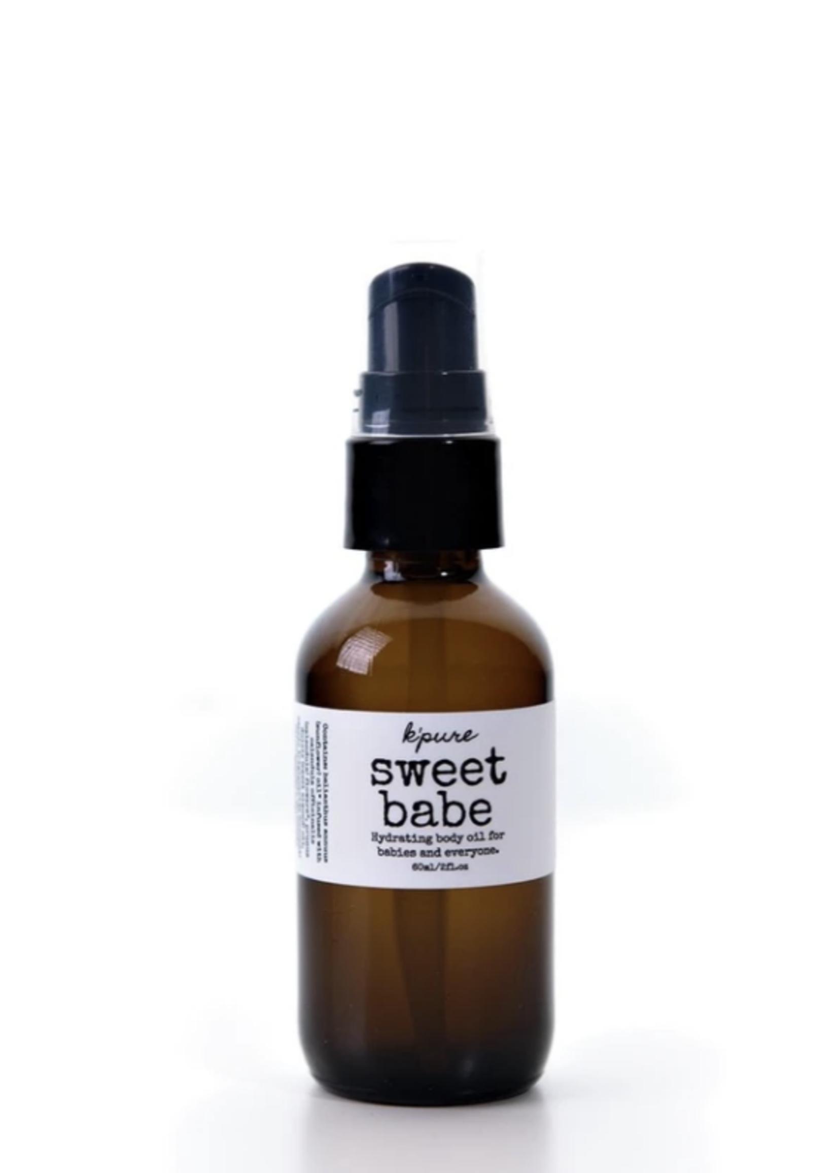 K'Pure Sweet Babe Body Oil