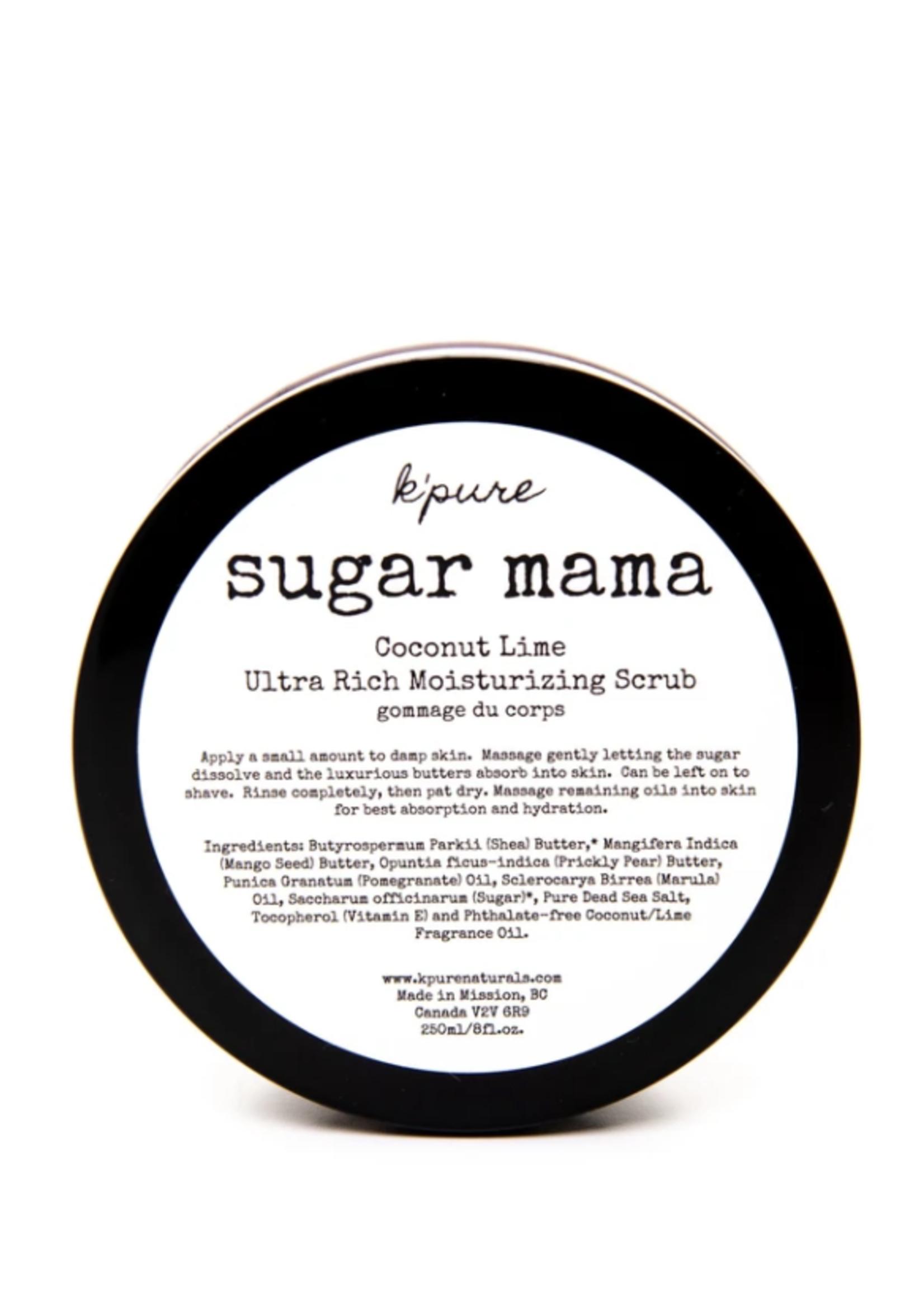 K'Pure Sugar Mama Whipped Scrub