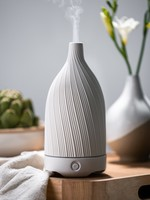 Woolzies Textured Ceramic Diffuser | White