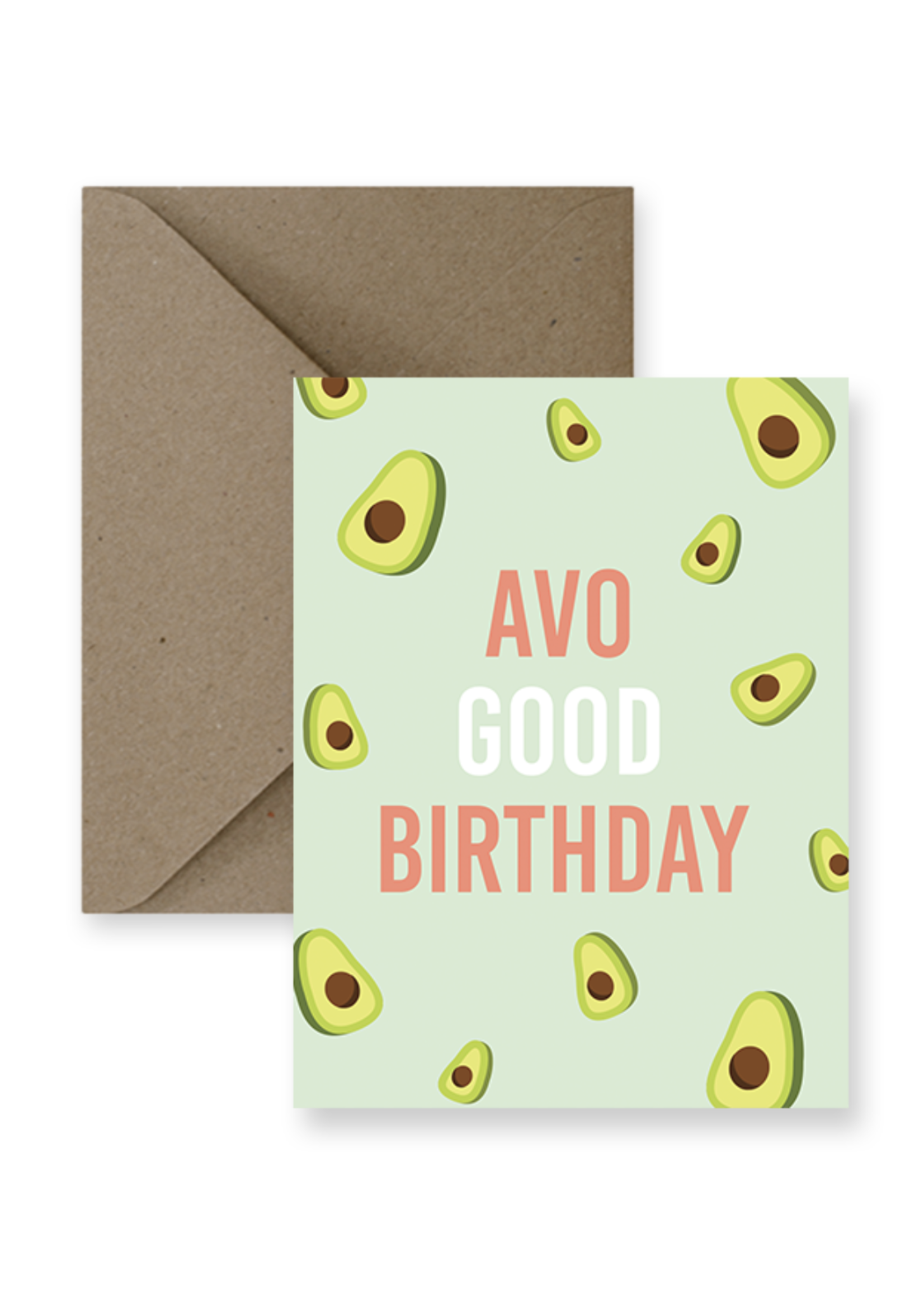 IMPAPER Avo Good Birthday Card