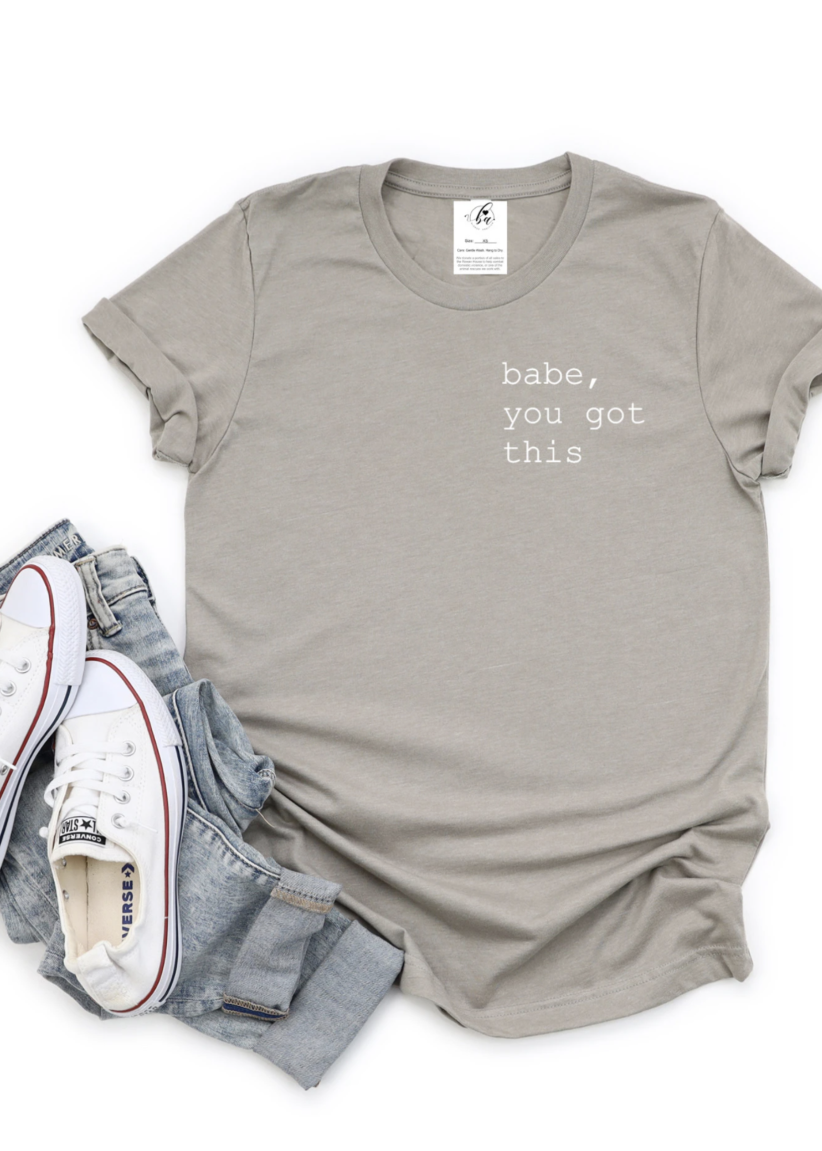 Blonde Ambition Babe, You Got This T-Shirt