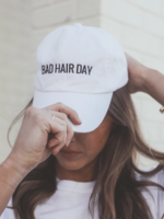 Friday + Saturday Bad Hair Day Baseball Hat