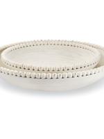 Mud Pie Beaded Nesting Bowls - Set/2