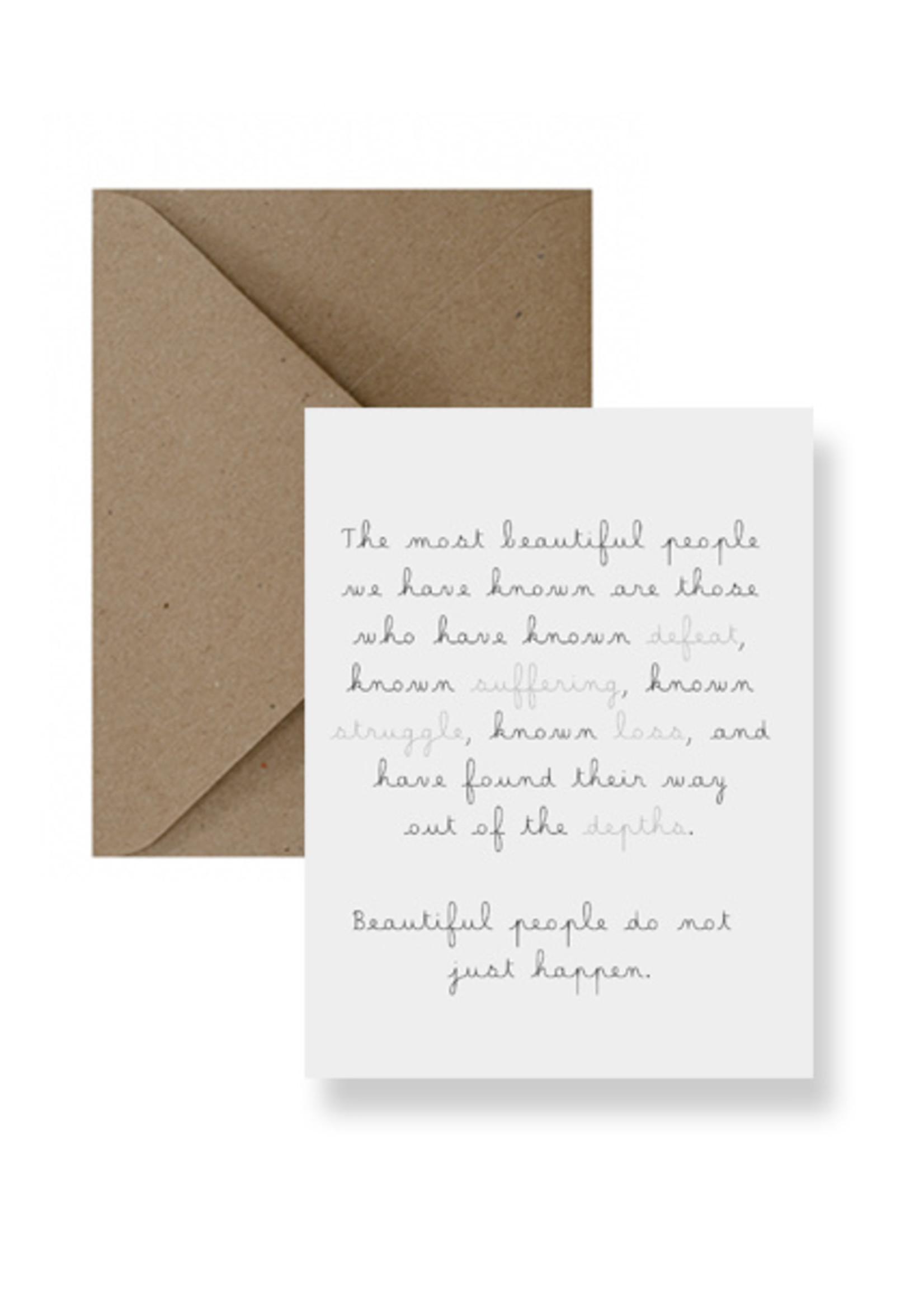 IMPAPER Beautiful People Card
