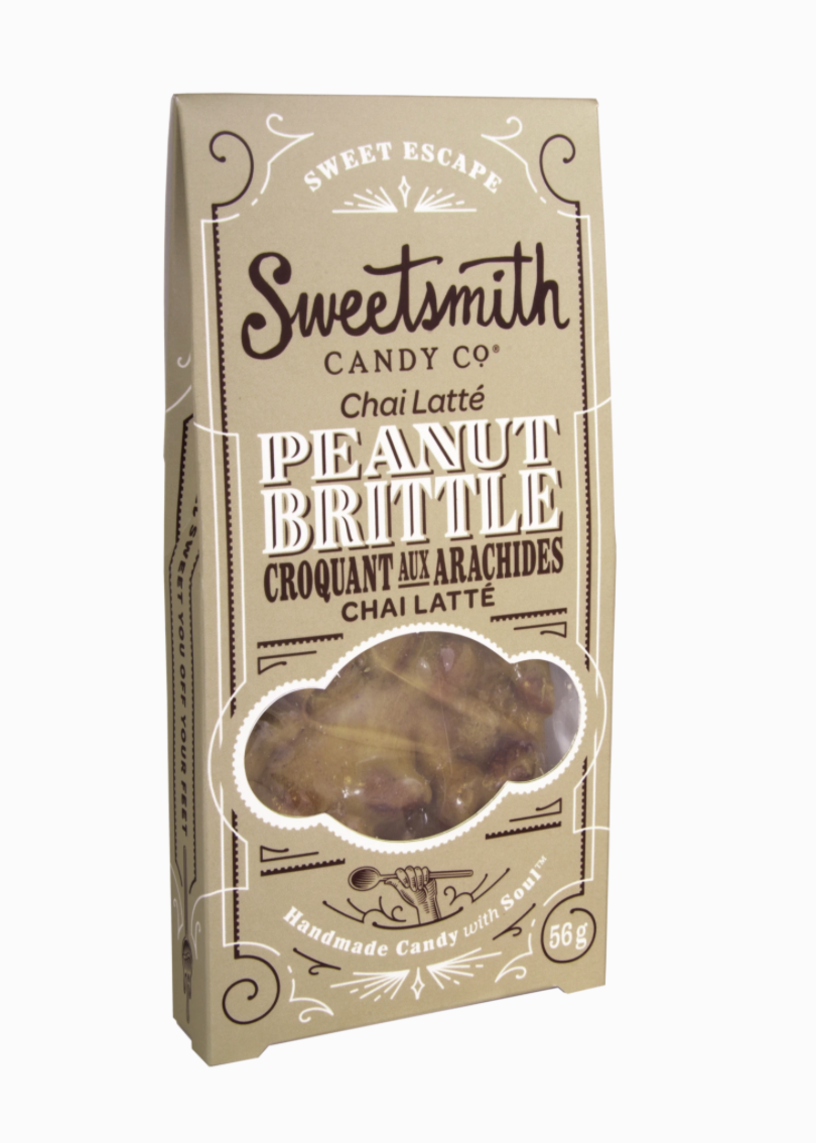 Sweetsmith Candy Co. Chai Latte Peanut Brittle
