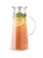 Charlie Glass Iced Tea Carafe   Clear