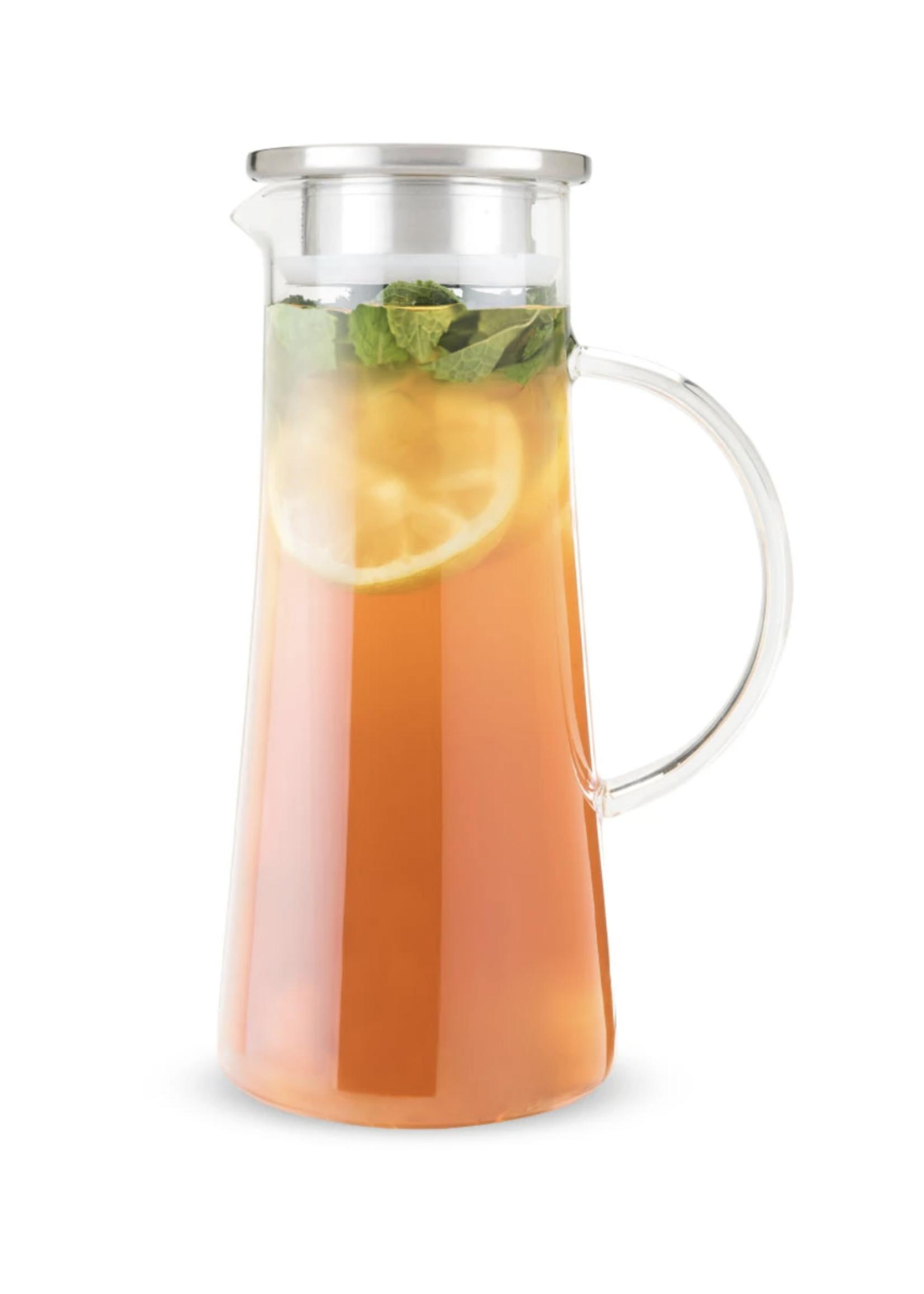Charlie Glass Iced Tea Carafe | Clear