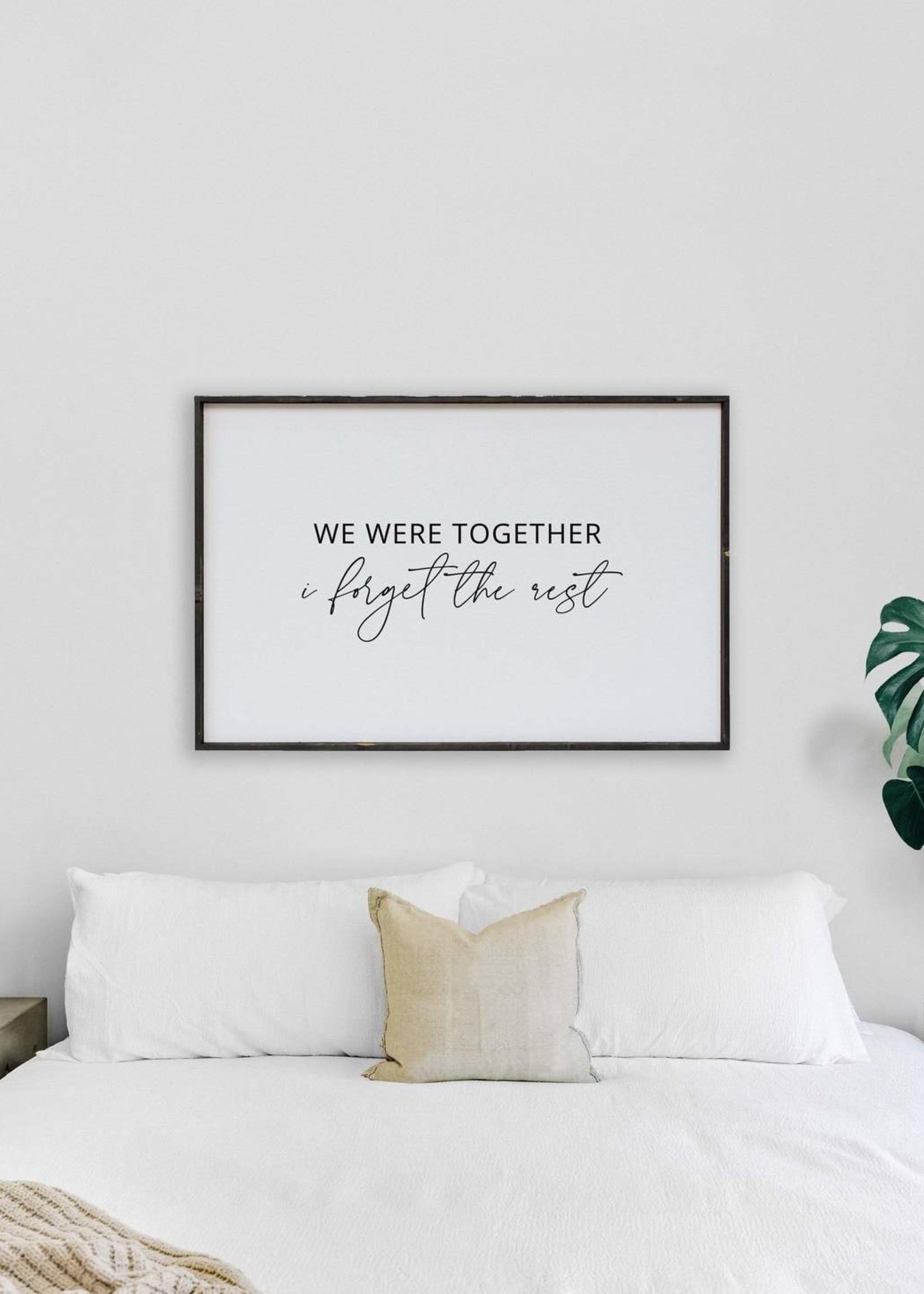 Williamraedesigns We Were Together…