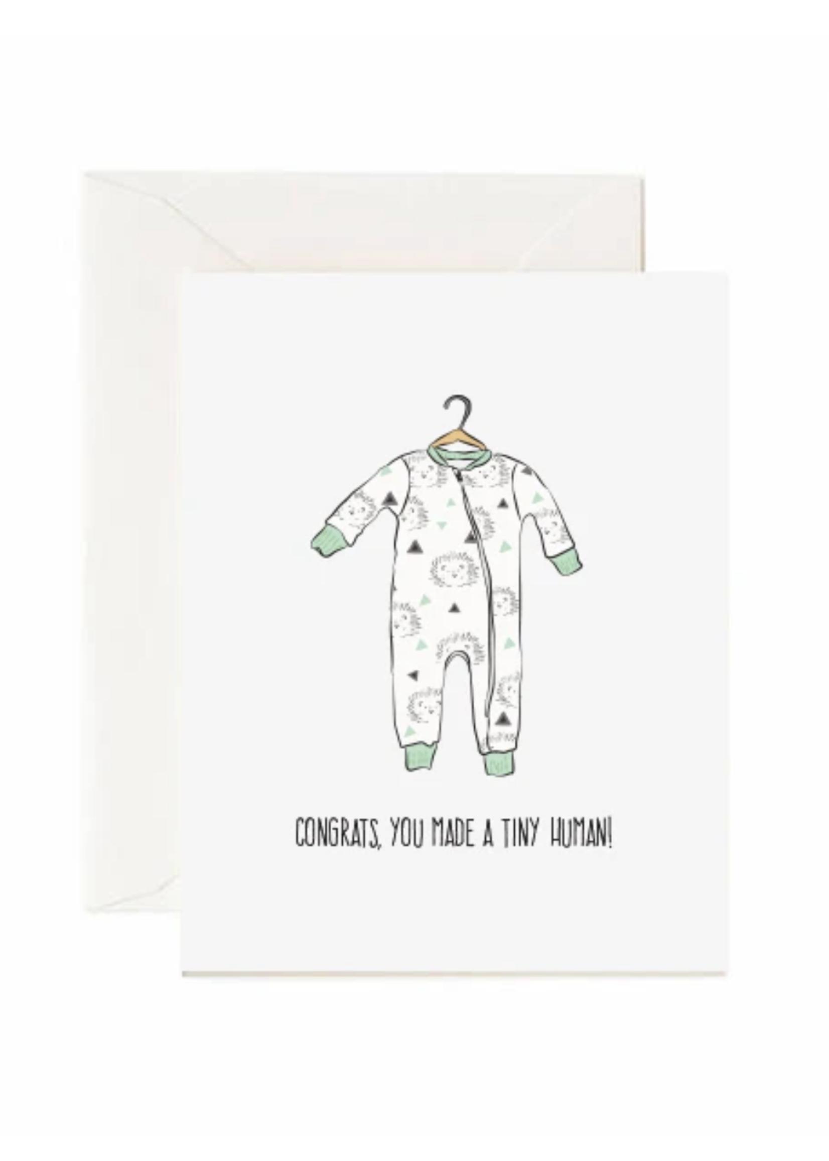 Jaybee Design Congrats, You Made A Tiny Human