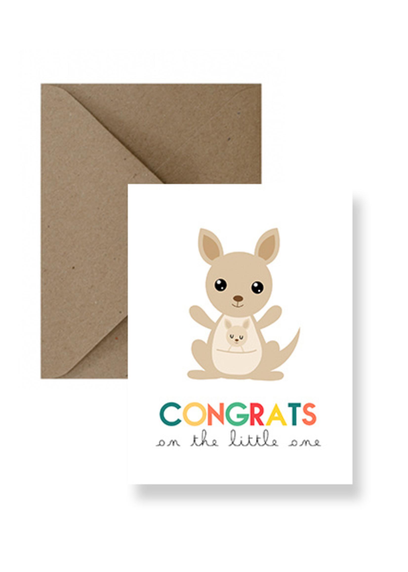 IMPAPER Congrats...Little One Card