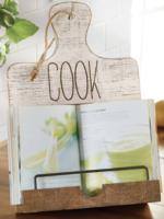 Mud Pie Cookbook Holder   Cook