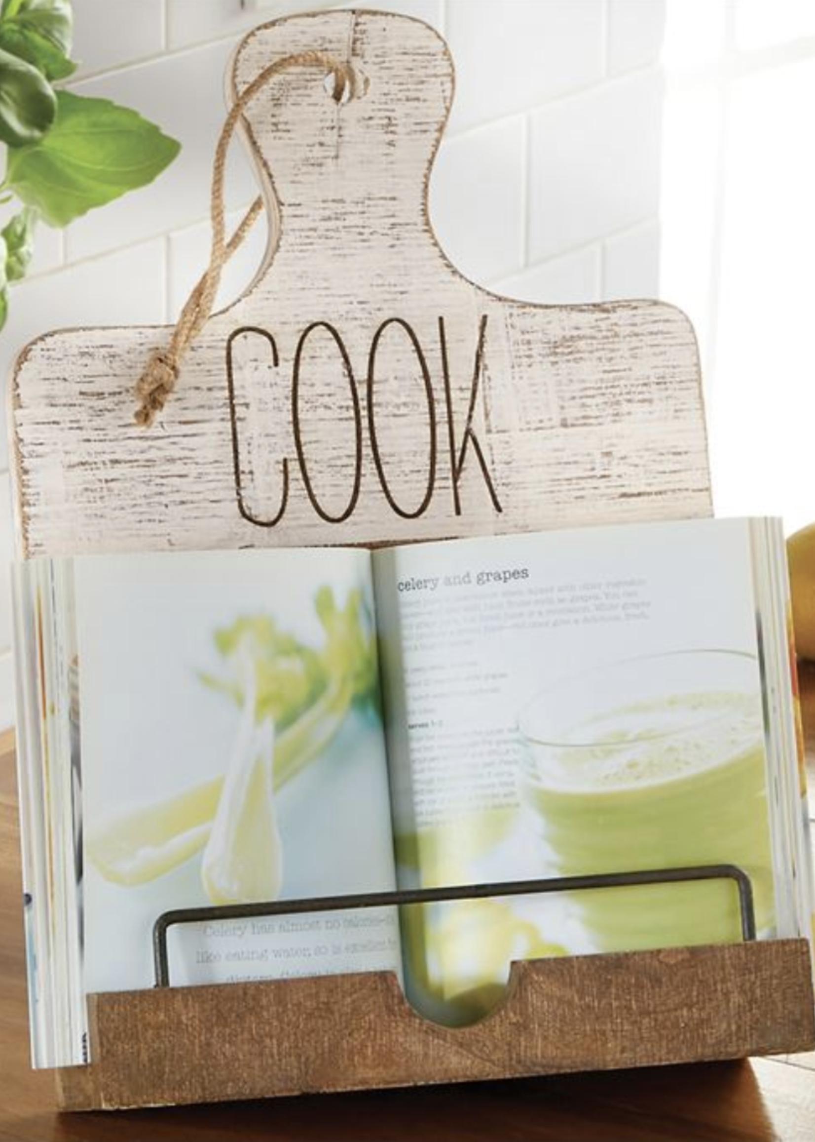 Mud Pie Cookbook Holder | Cook