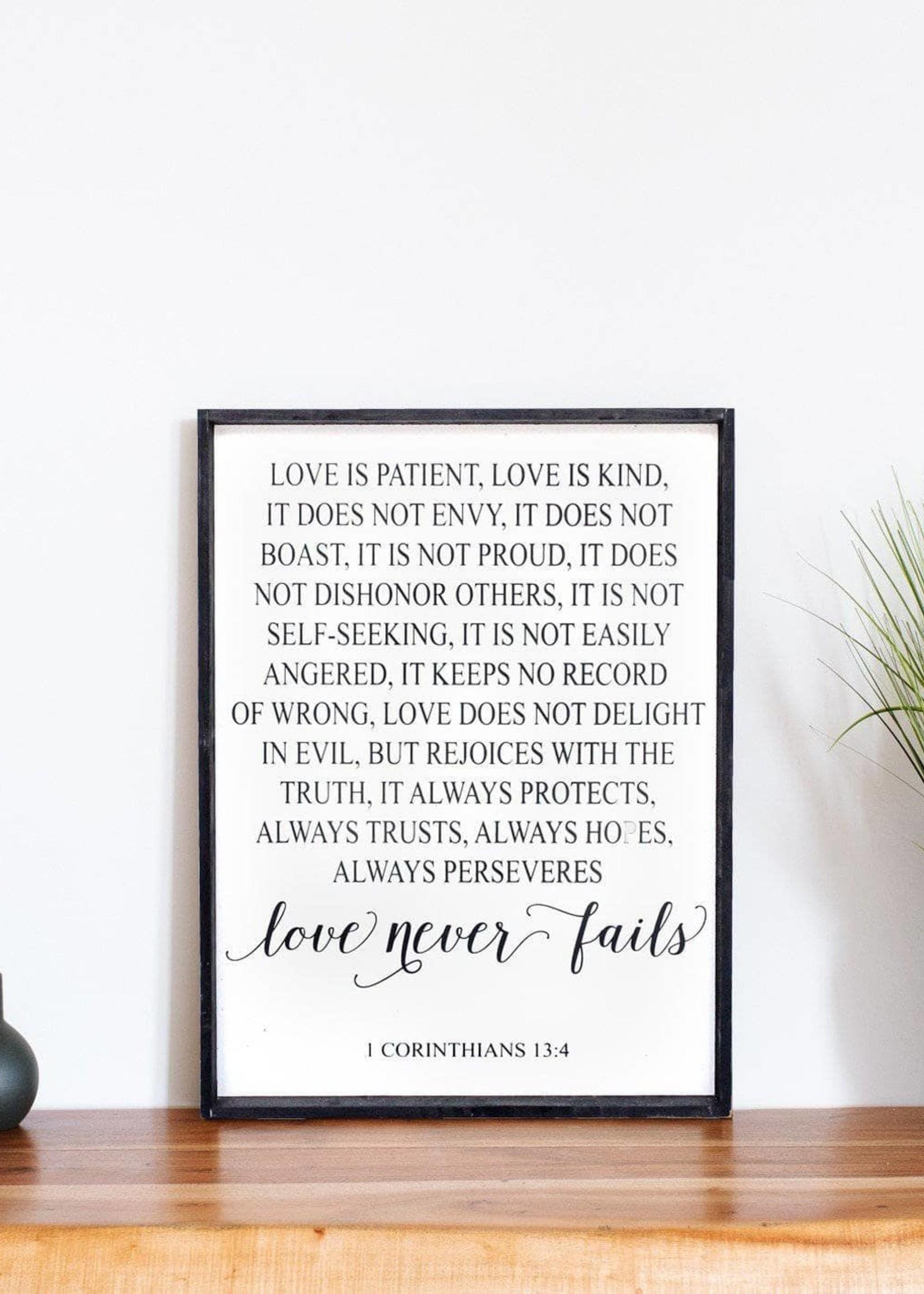 Williamraedesigns Corinthians Verse | 2 Colours