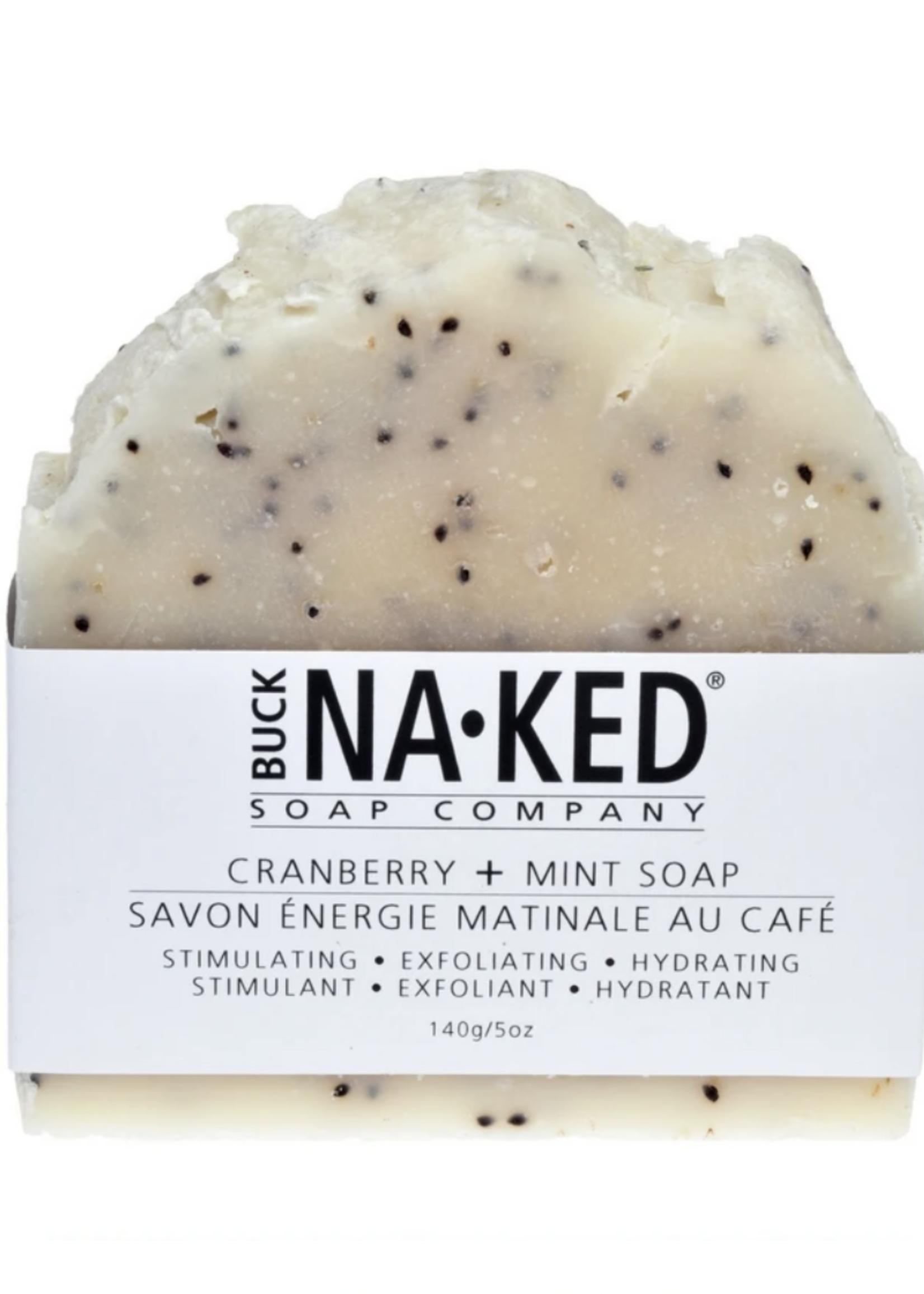 Buck Naked Soap Company Cranberry & Mint Soap