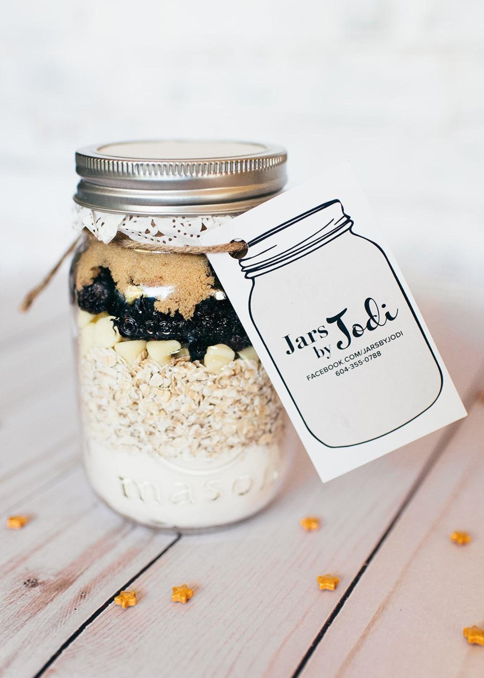 Jars By Jodi Cranberry White Chocolate Cookies   Mini