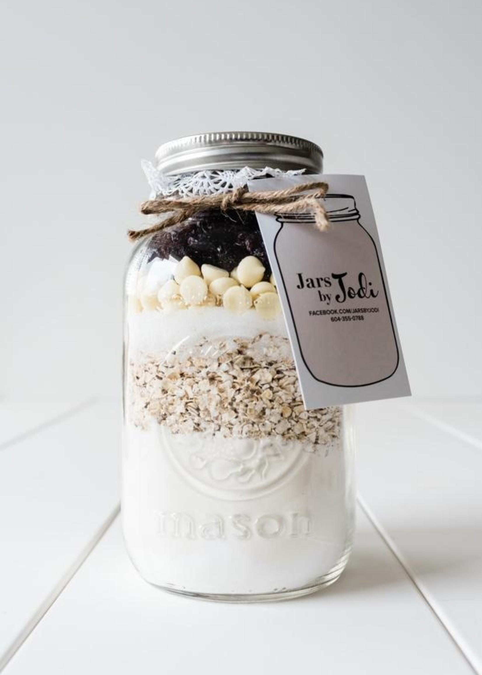 Jars By Jodi Cranberry White Chocolate Scones