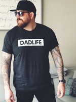 My Cheeky Baby Dad Life Tee | Charcoal Tri-Blend