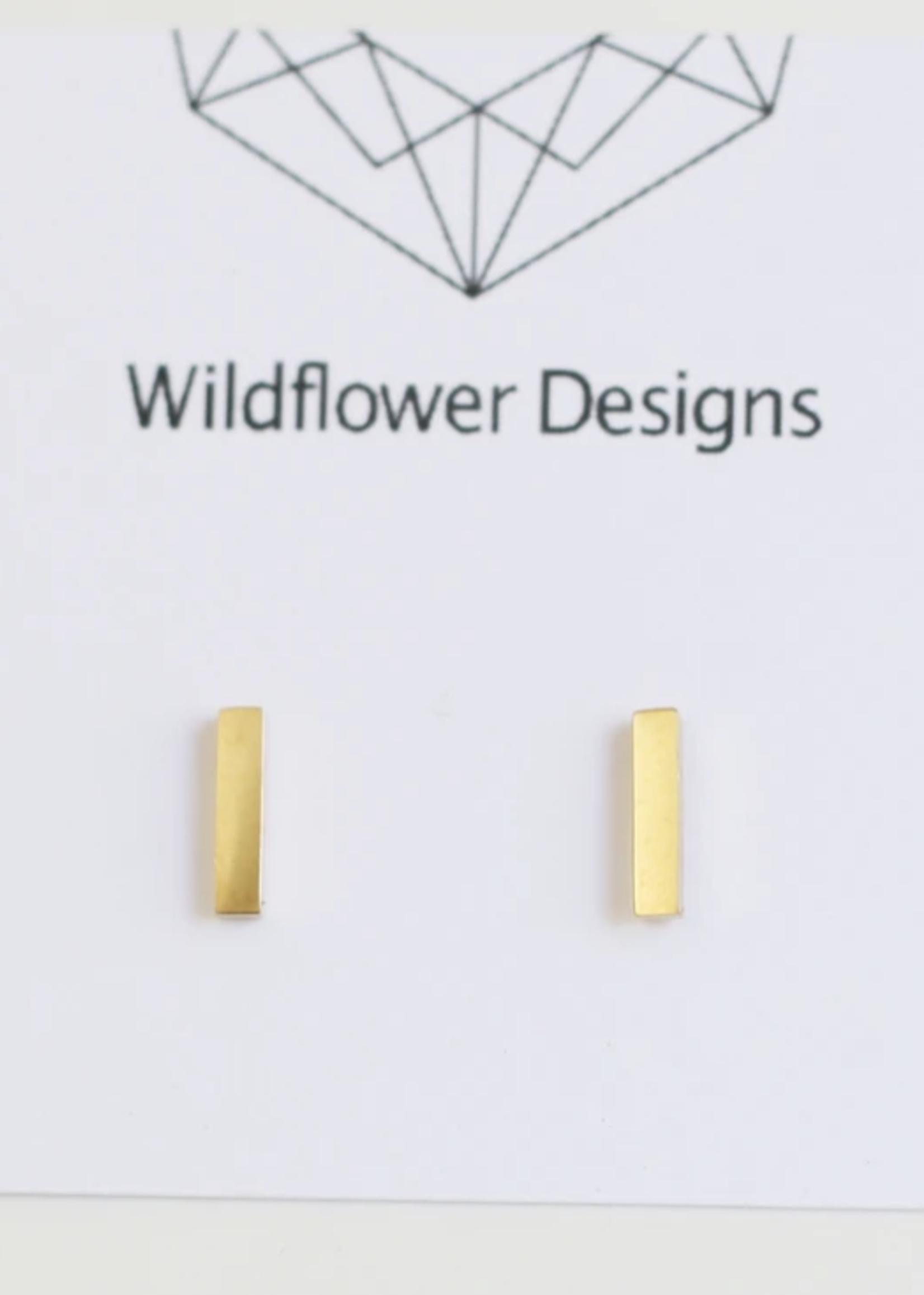 Wildflower Designs Mini Bar Earrings