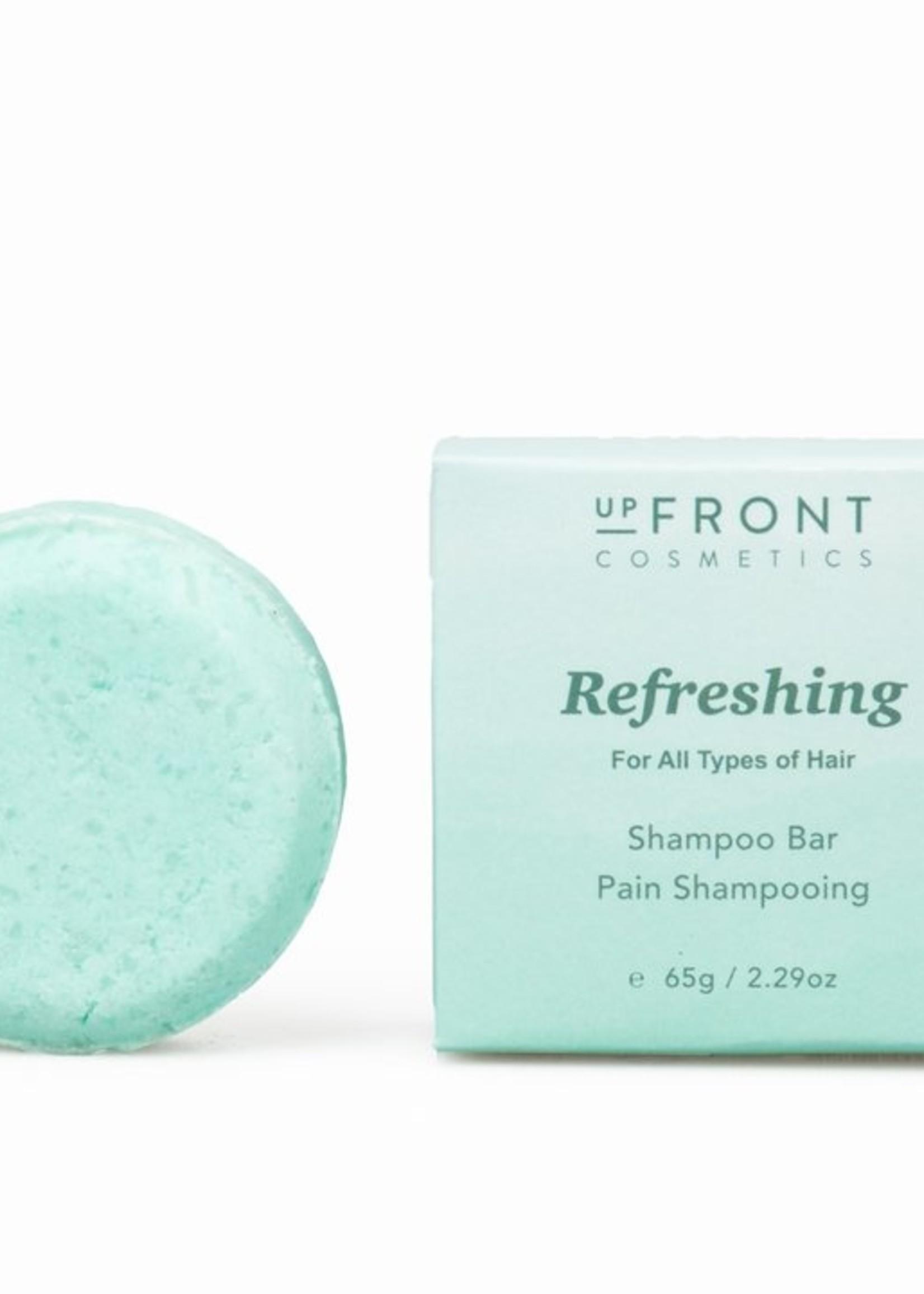 Upfront Cosmetics Refreshing Shampoo Bar for Normal Hair