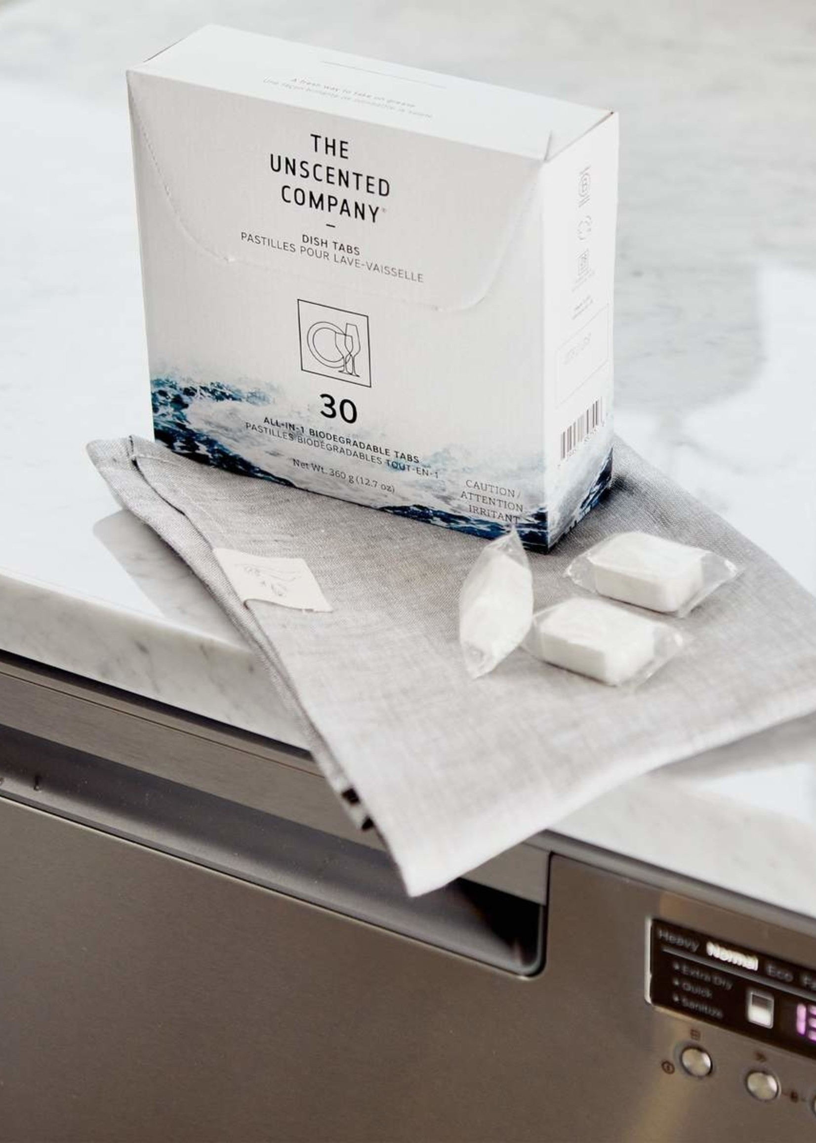 The Unscented Company Ecodesigned Dish Tabs | 30pk