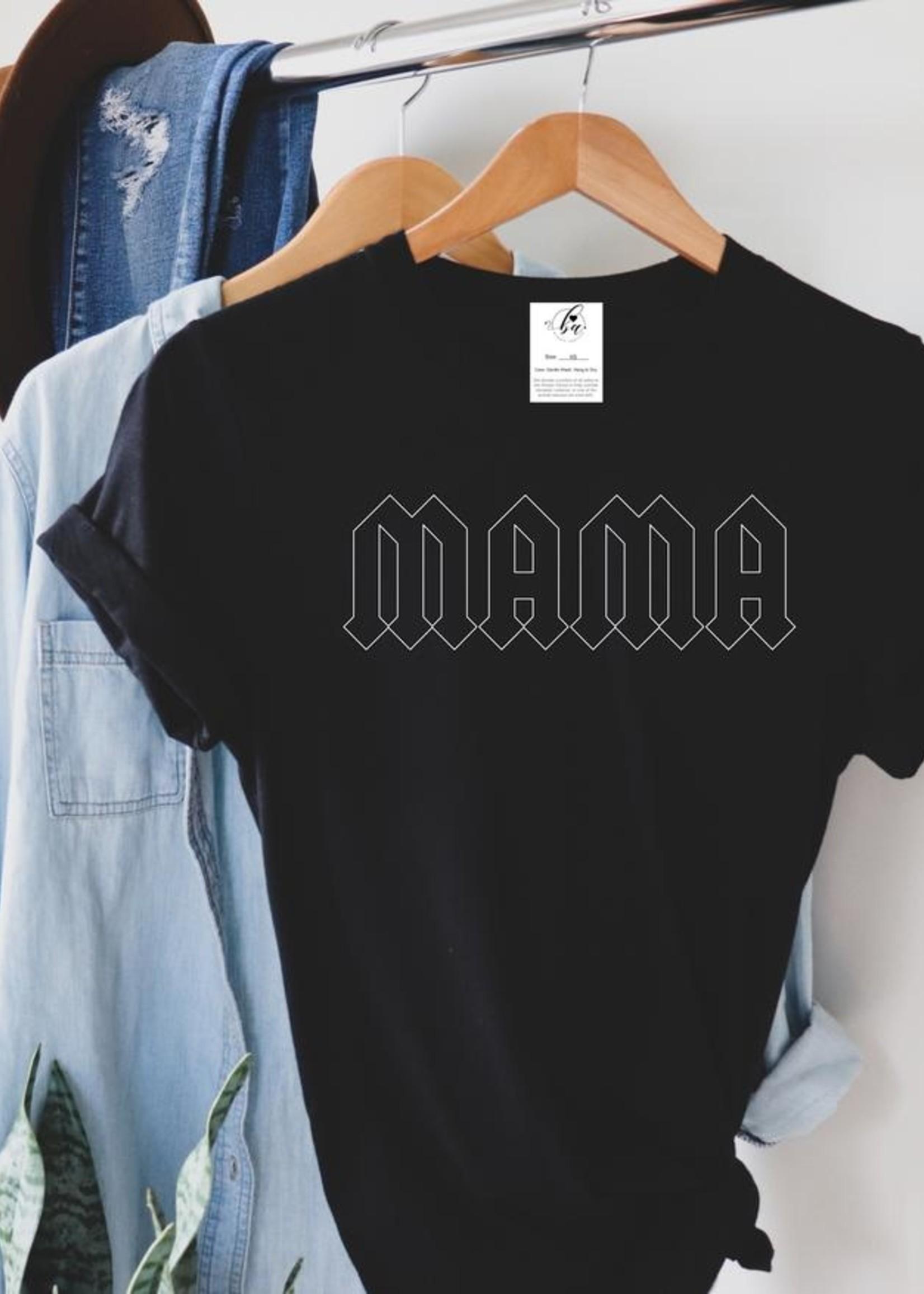 Blonde Ambition Edgy Mama T-Shirt