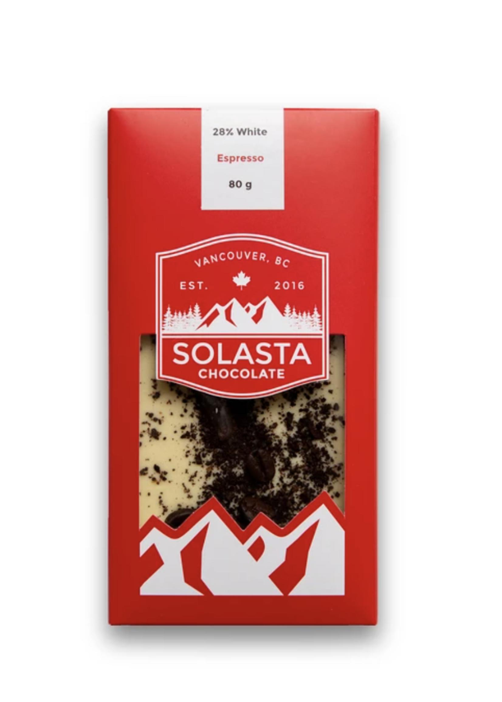 Solasta Chocolate Espresso White Chocolate