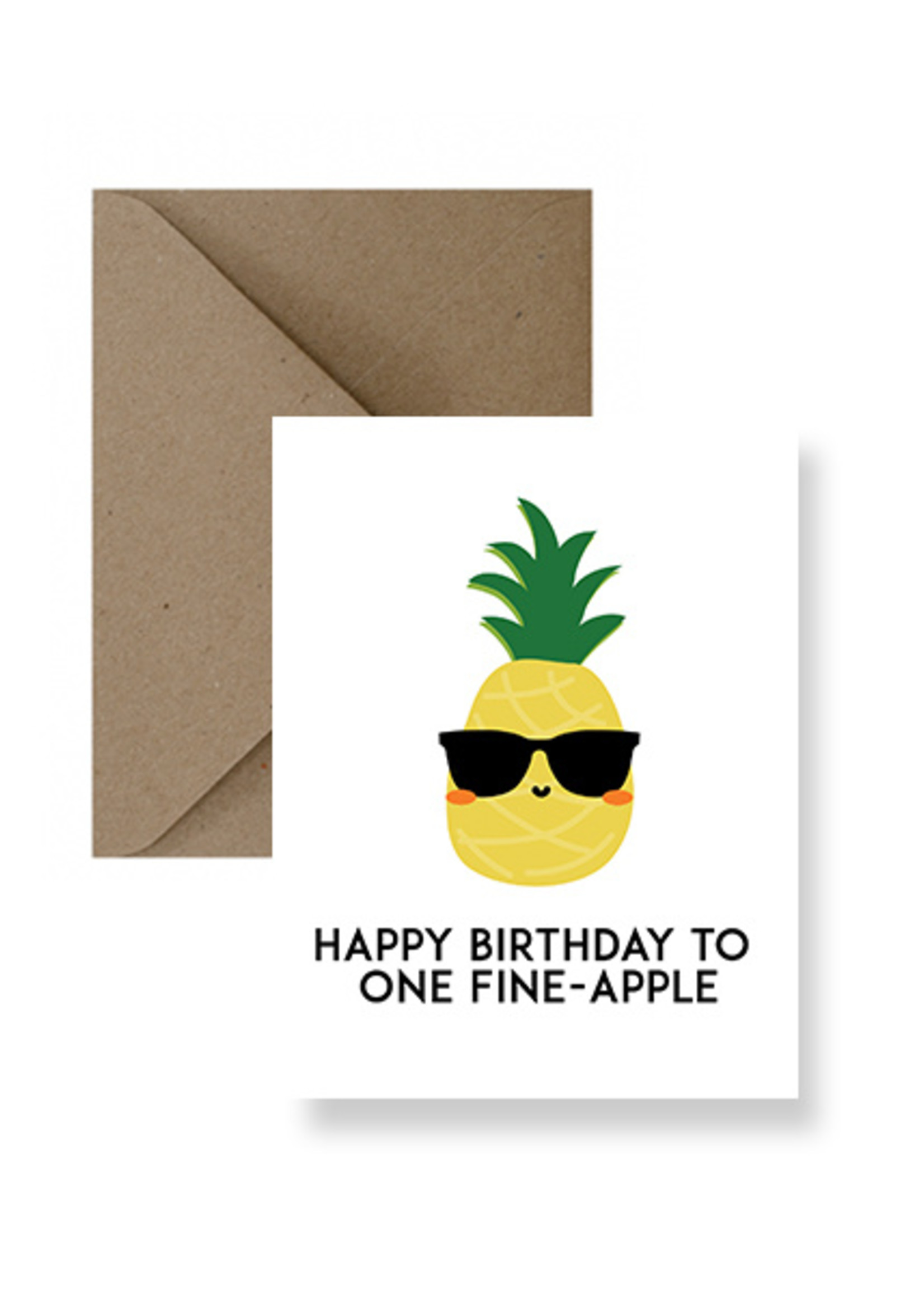 IMPAPER Fine-Apple Birthday Card