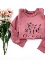 The Sweet Life Apparel & Gifts Wild Flower Pullover