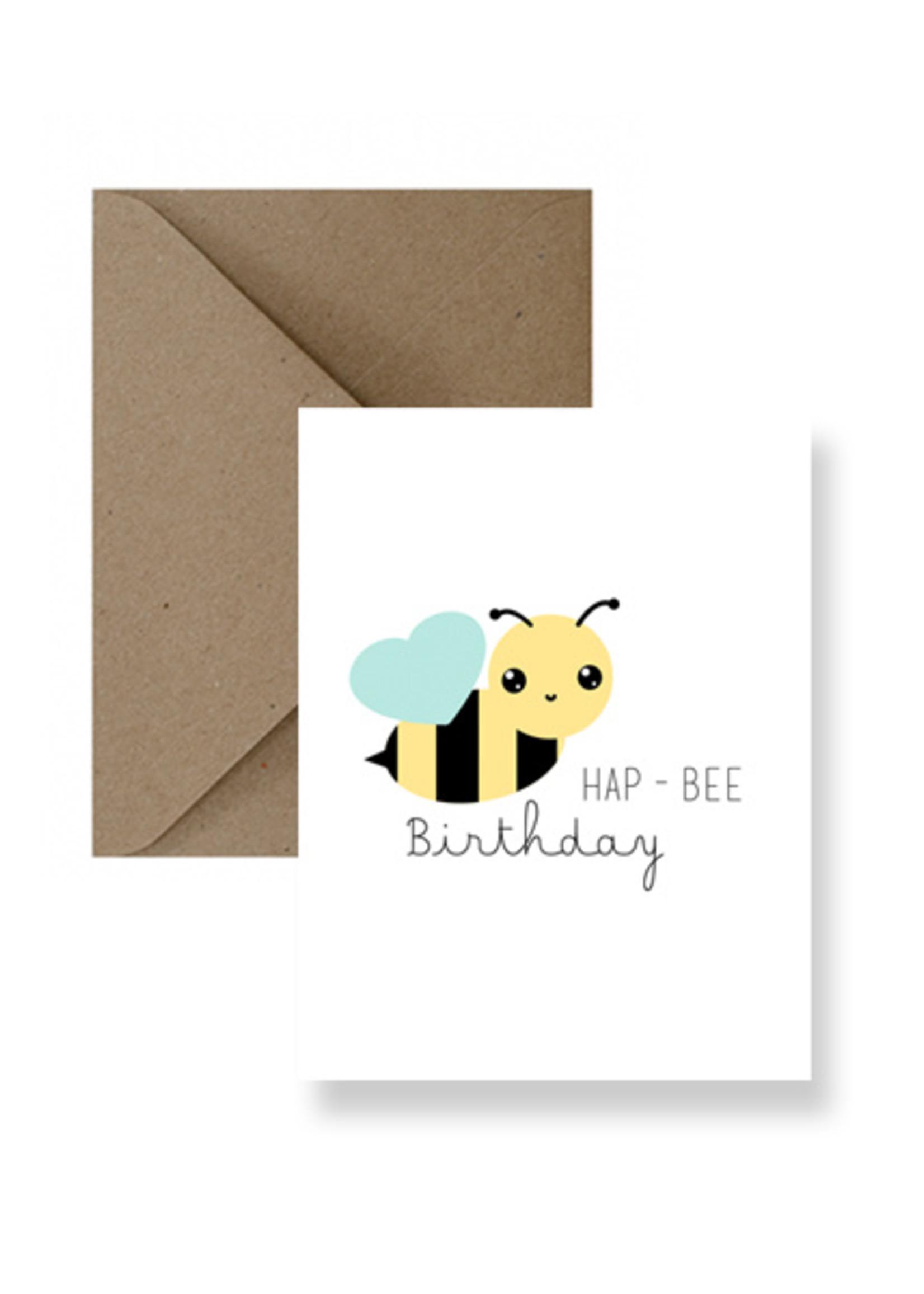 IMPAPER Hap-Bee Birthday Card