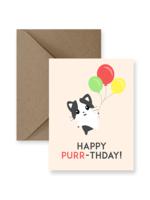 IMPAPER Happy Purr-Thday Card