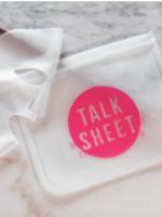 Talk Sheet Masks Reusable Silicone Face Mask