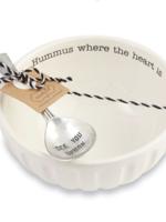 Mud Pie Hummus Bowl Set