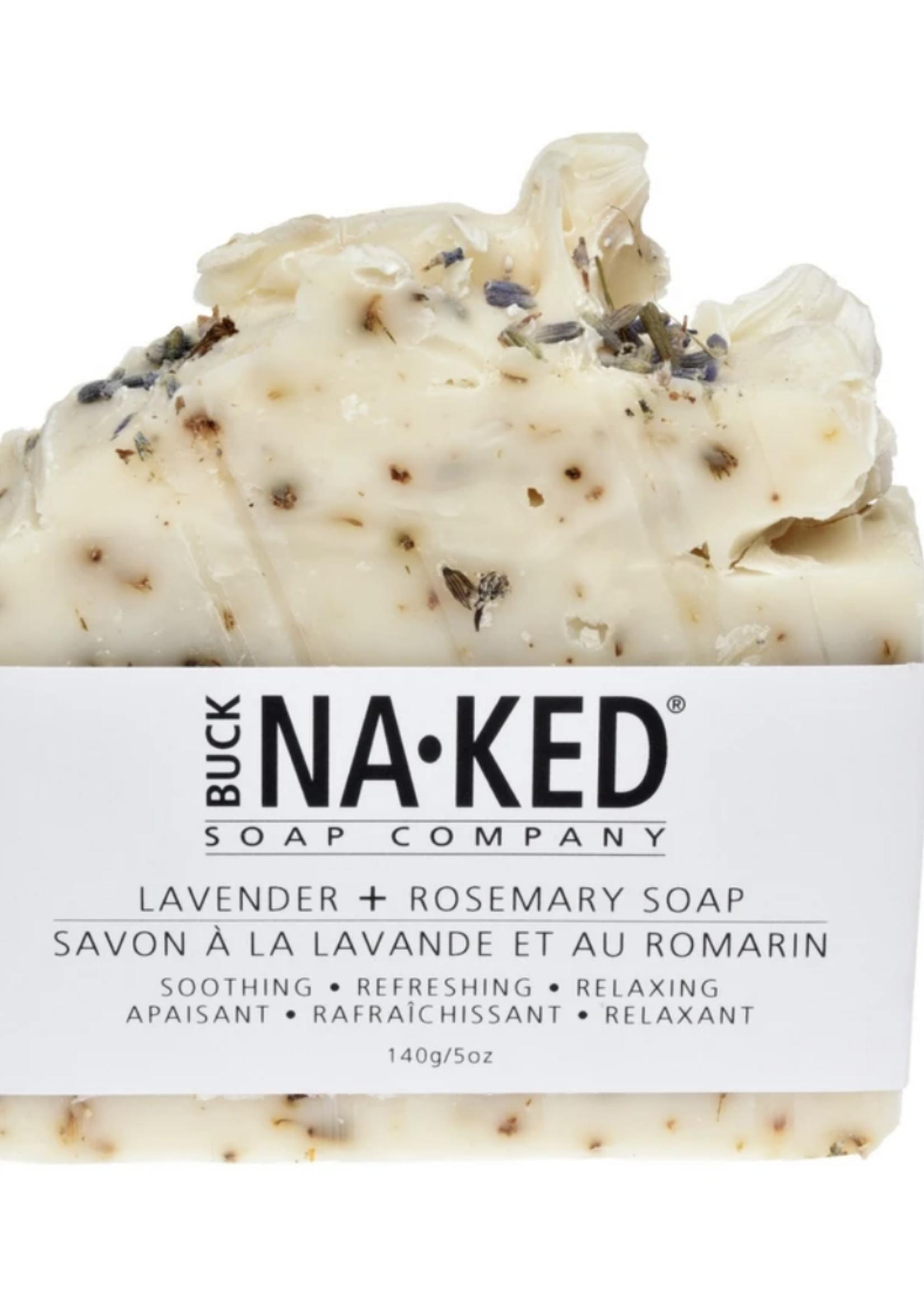 Buck Naked Soap Company Lavender & Rosemary Soap