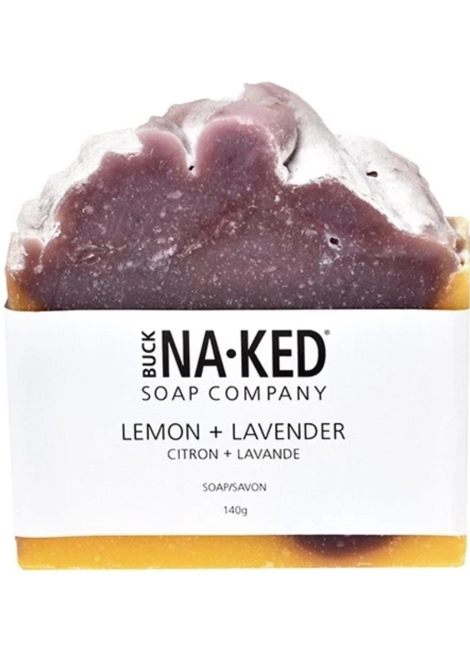 Buck Naked Soap Company Lemon & Lavender Soap
