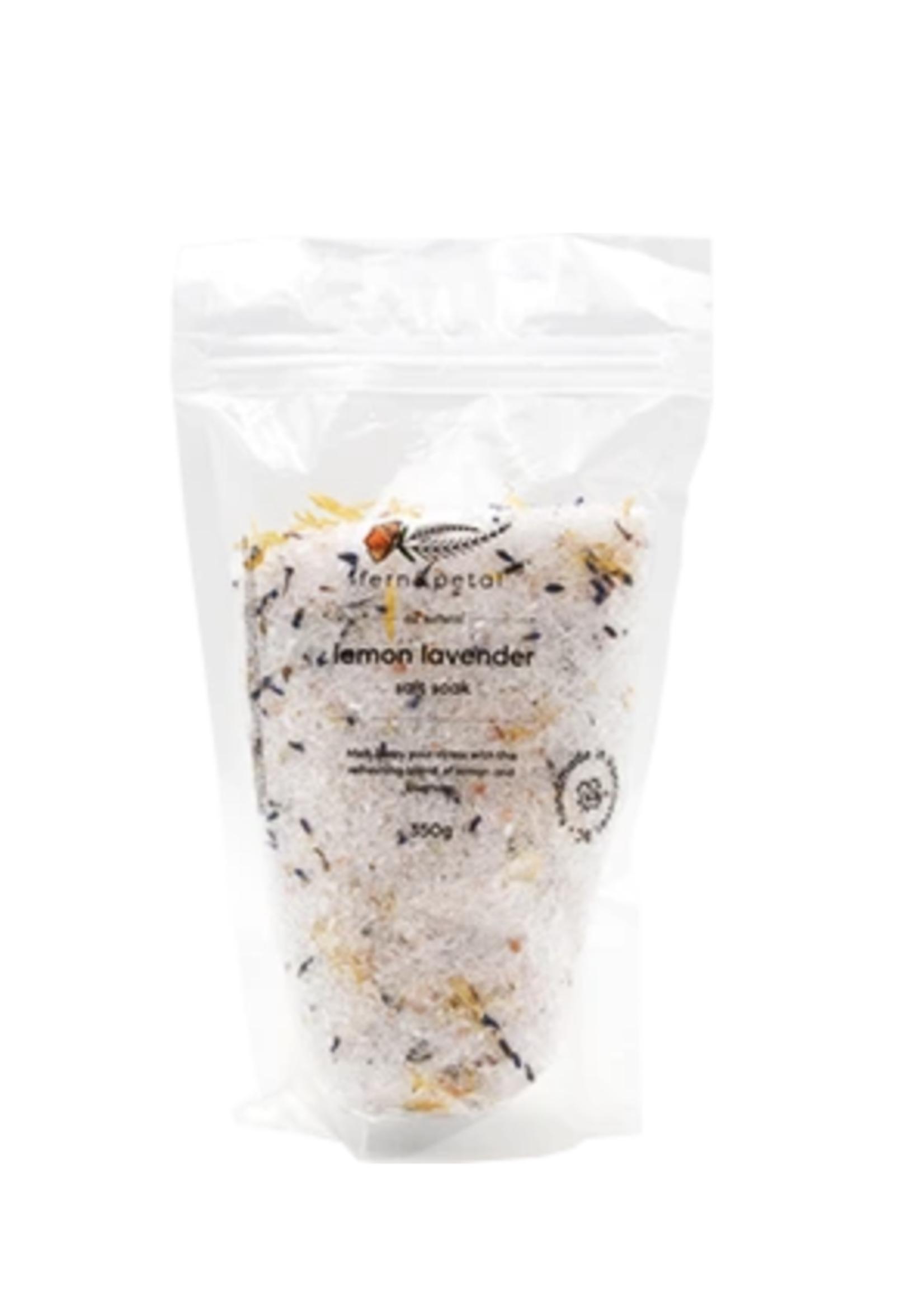 Lemon Lavender Bath Soak   350g
