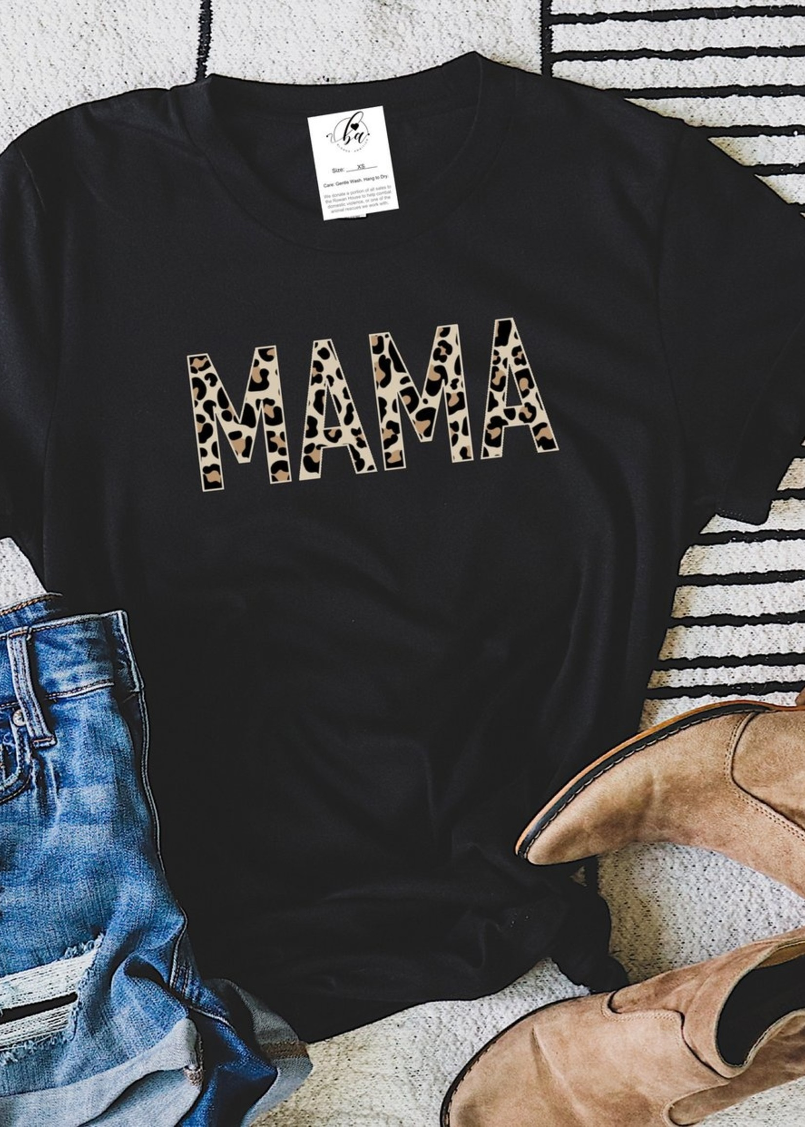 Blonde Ambition Leopard Mama T-Shirt