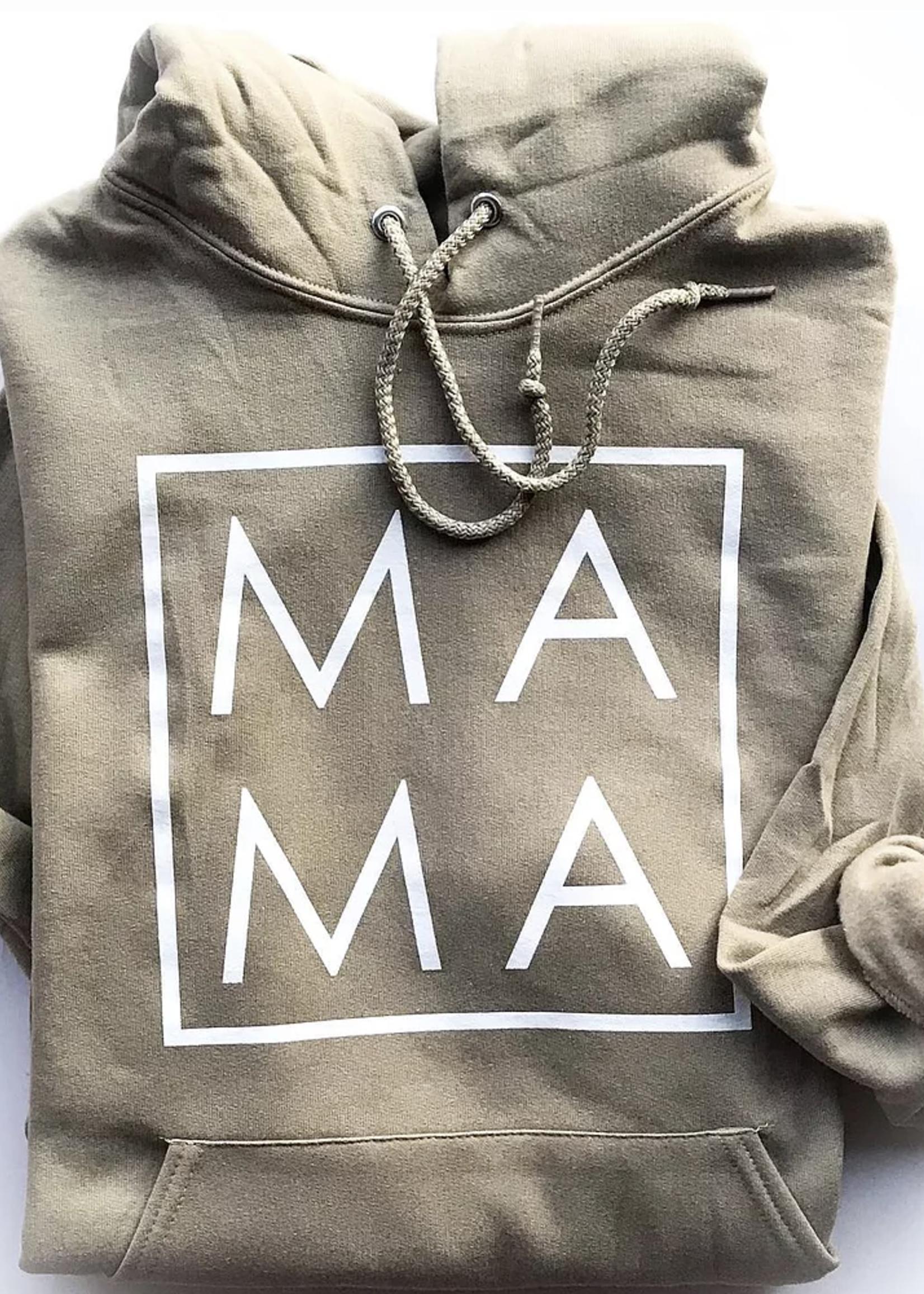 Bean & Boo Company Mama Hoodie | Khaki