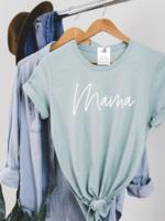 Blonde Ambition Mama Script T-Shirt
