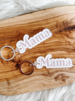 Allybeth Design Co Mama Acrylic Keychain