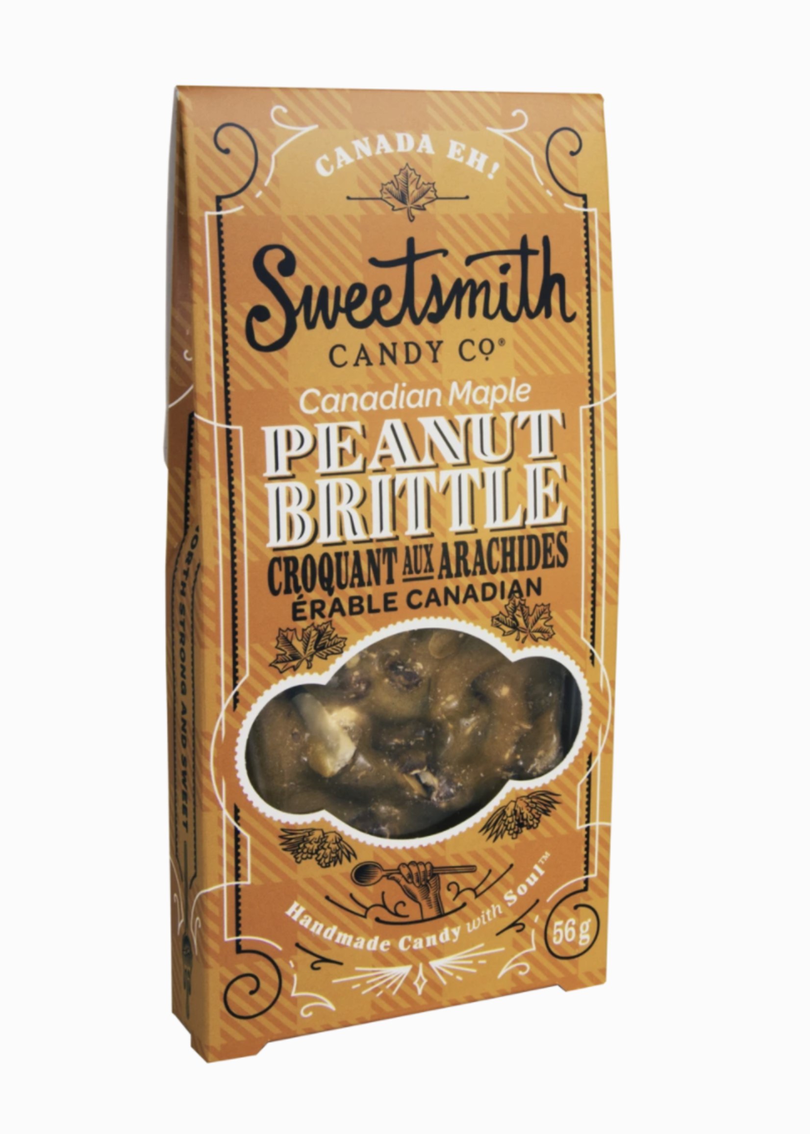 Sweetsmith Candy Co. Maple Peanut Brittle