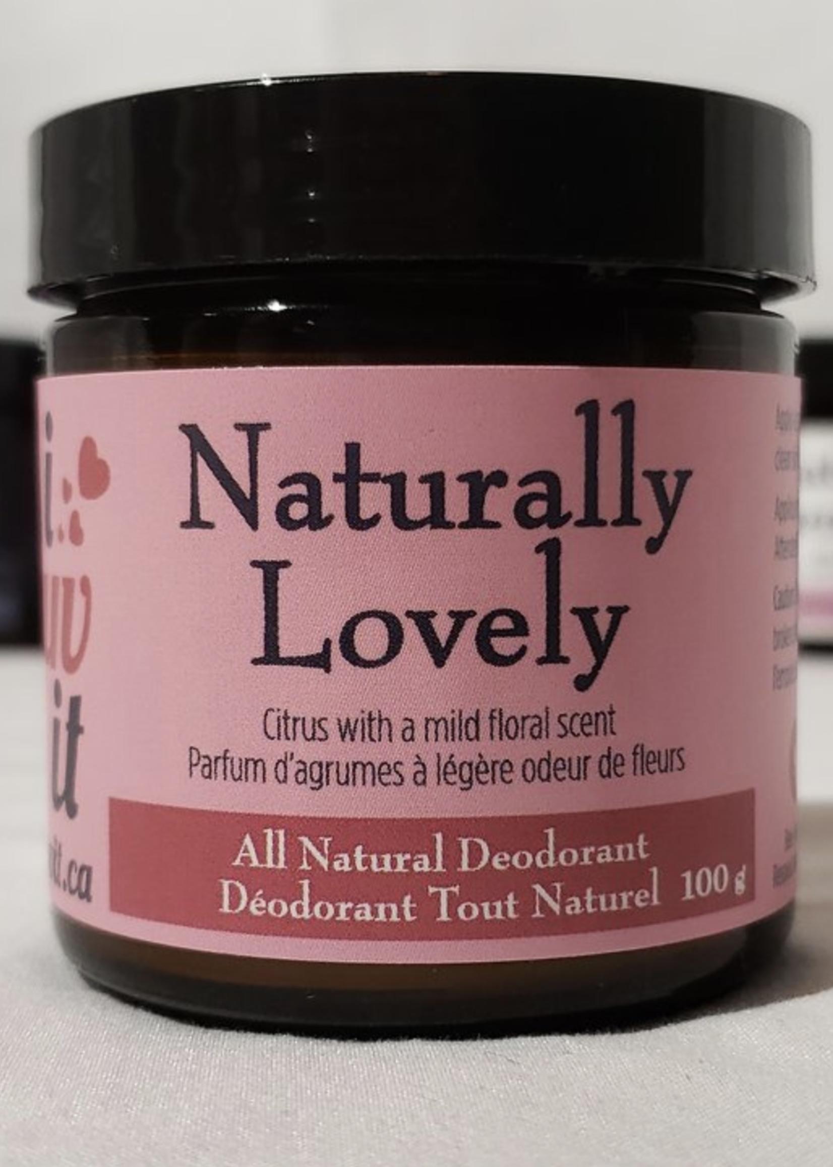 I Luv It Deodorant Naturally Lovely Deodorant