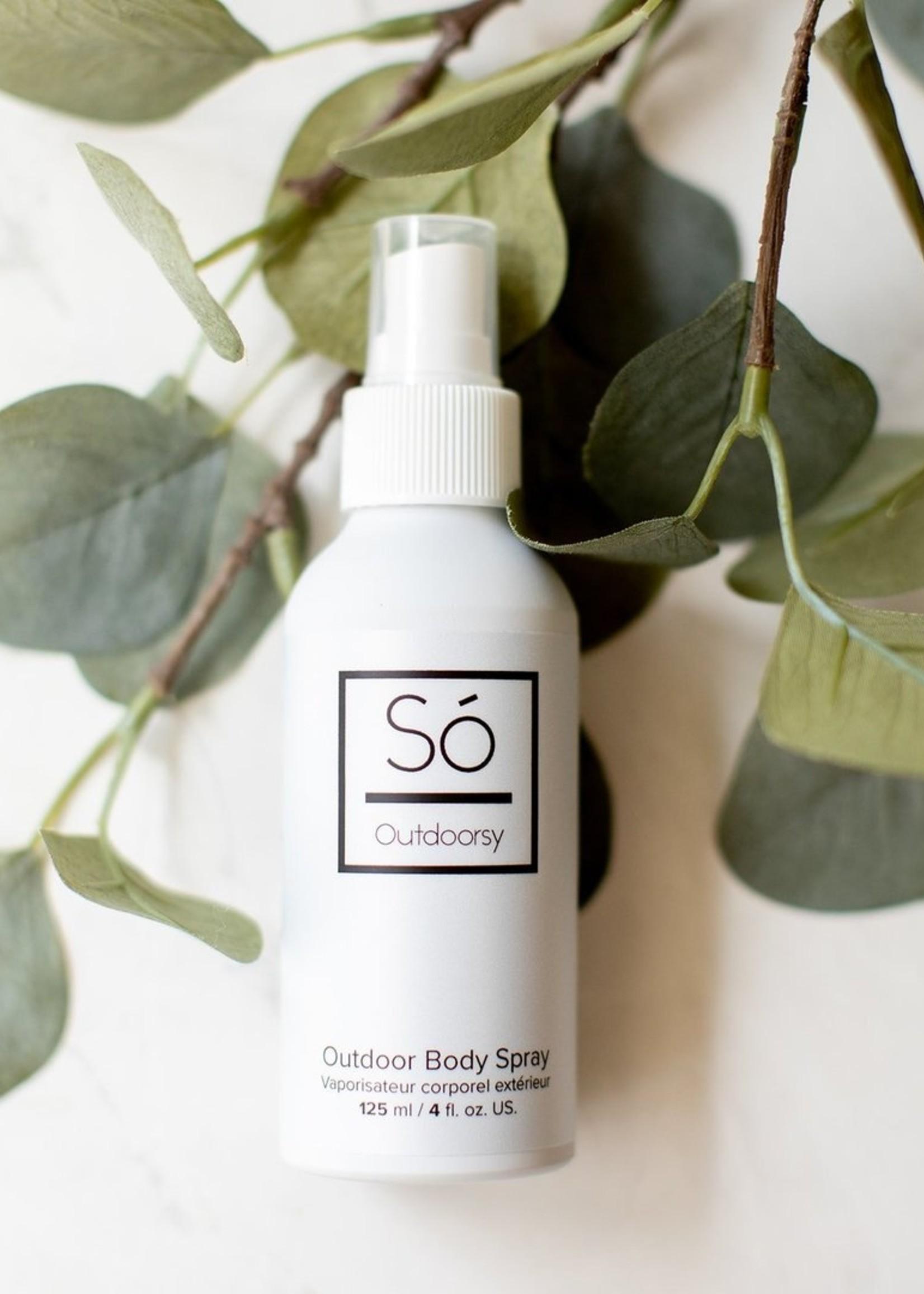 Só Luxury Outdoorsy   Outdoor Body Spray