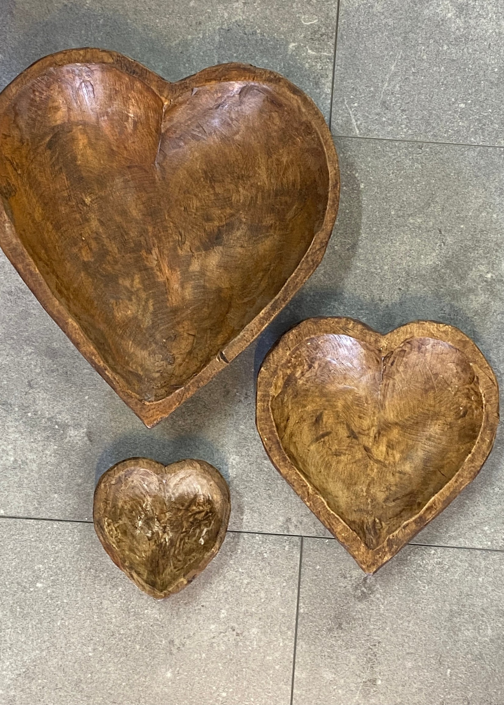 Carved Heart Bowl