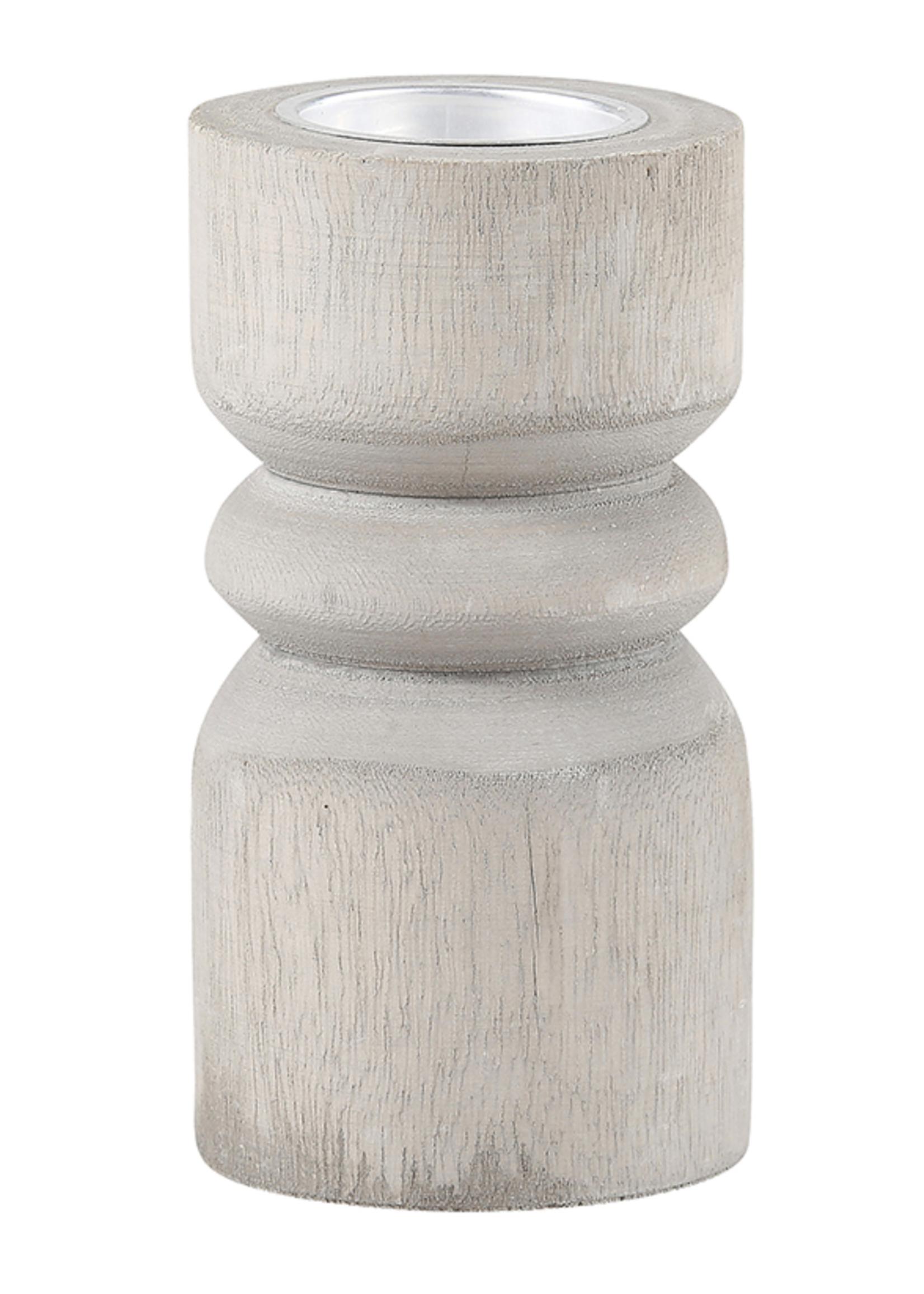 SB Design Studio Paulownia Candle Pillar
