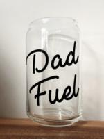 Jemdesigns Dad Fuel Beer Glass