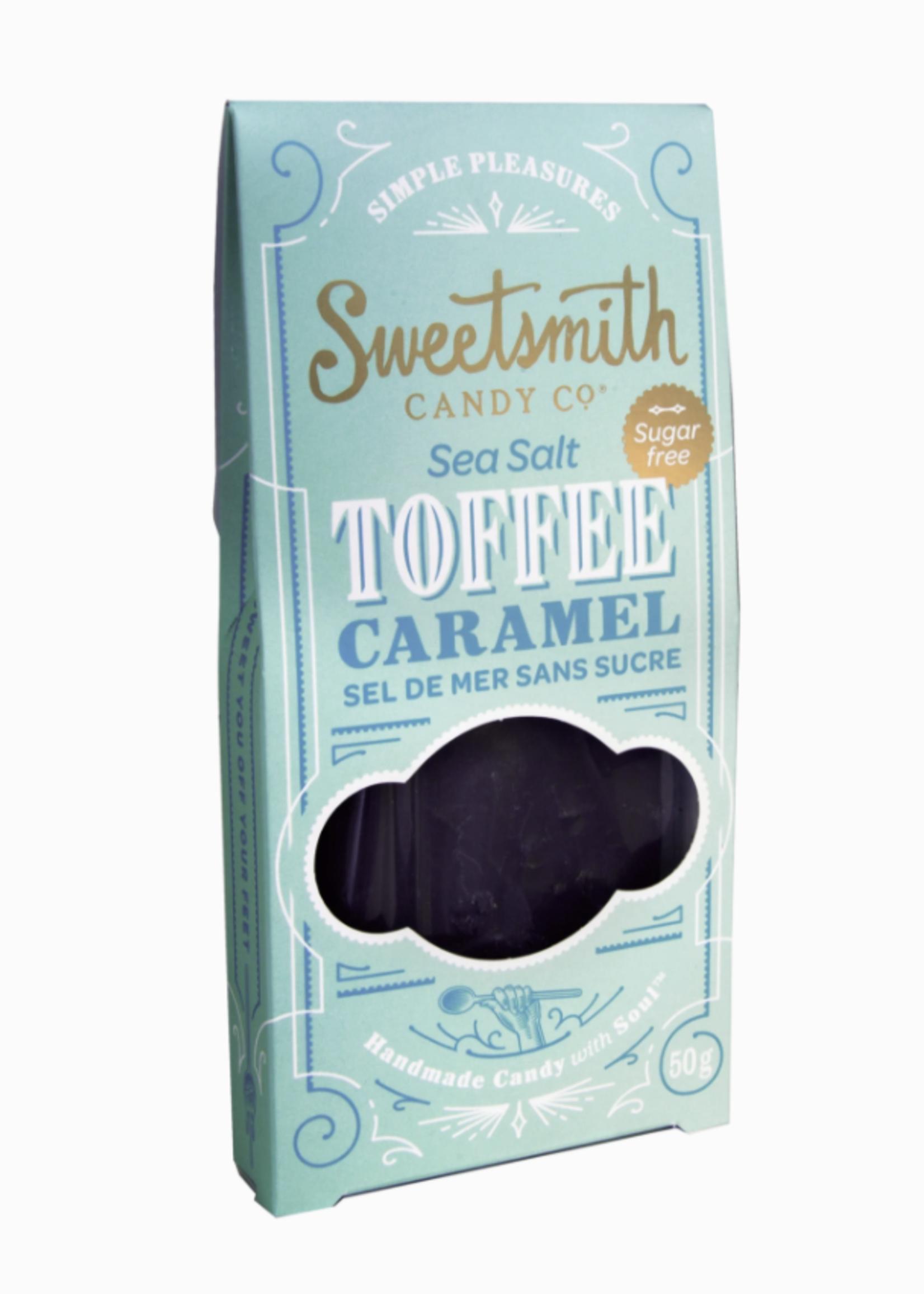 Sweetsmith Candy Co. Sea Salt Chocolate Toffee | SUGAR FREE